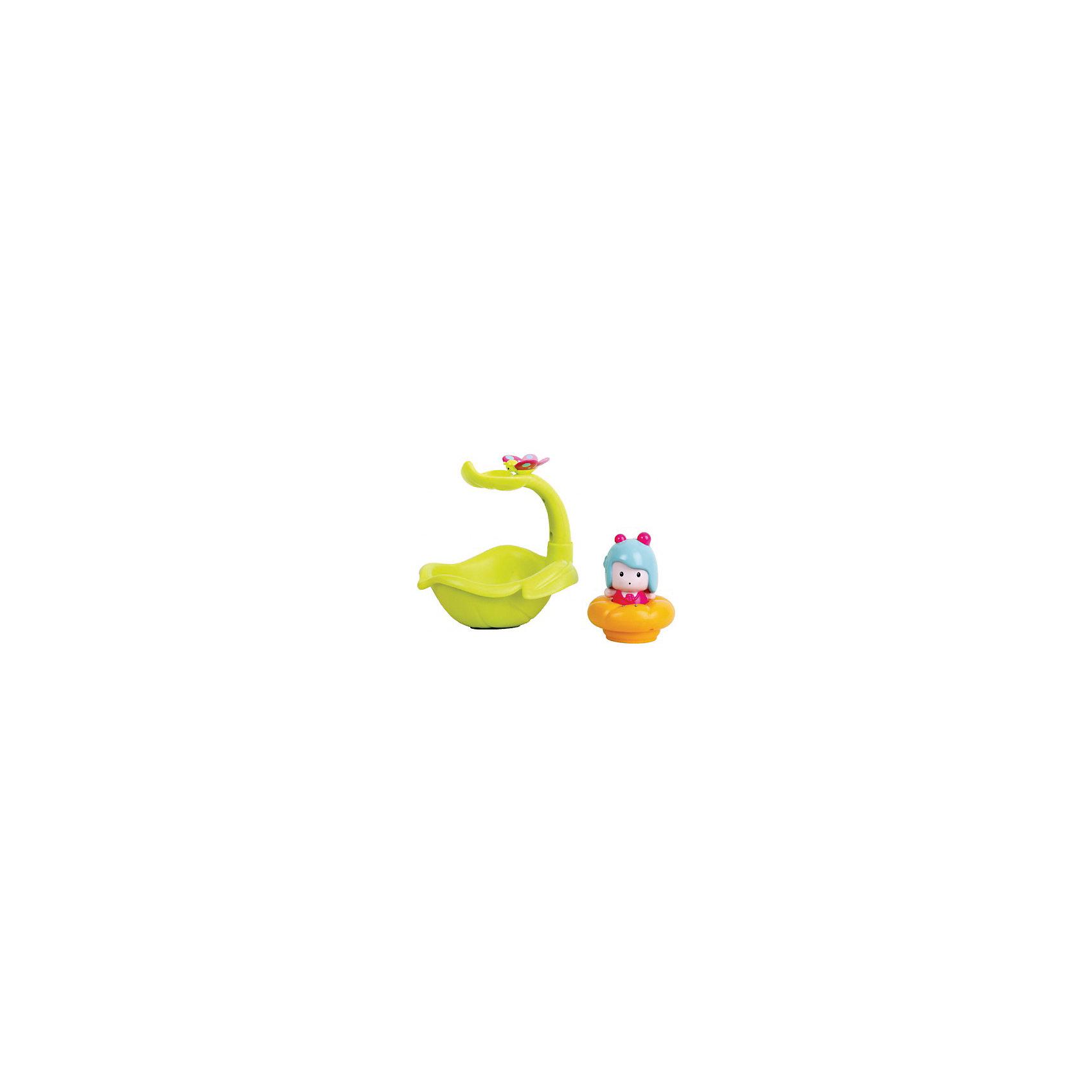 Ouaps Интерактивная игрушка Листочек-фонтан Мими для ванной, Ouaps