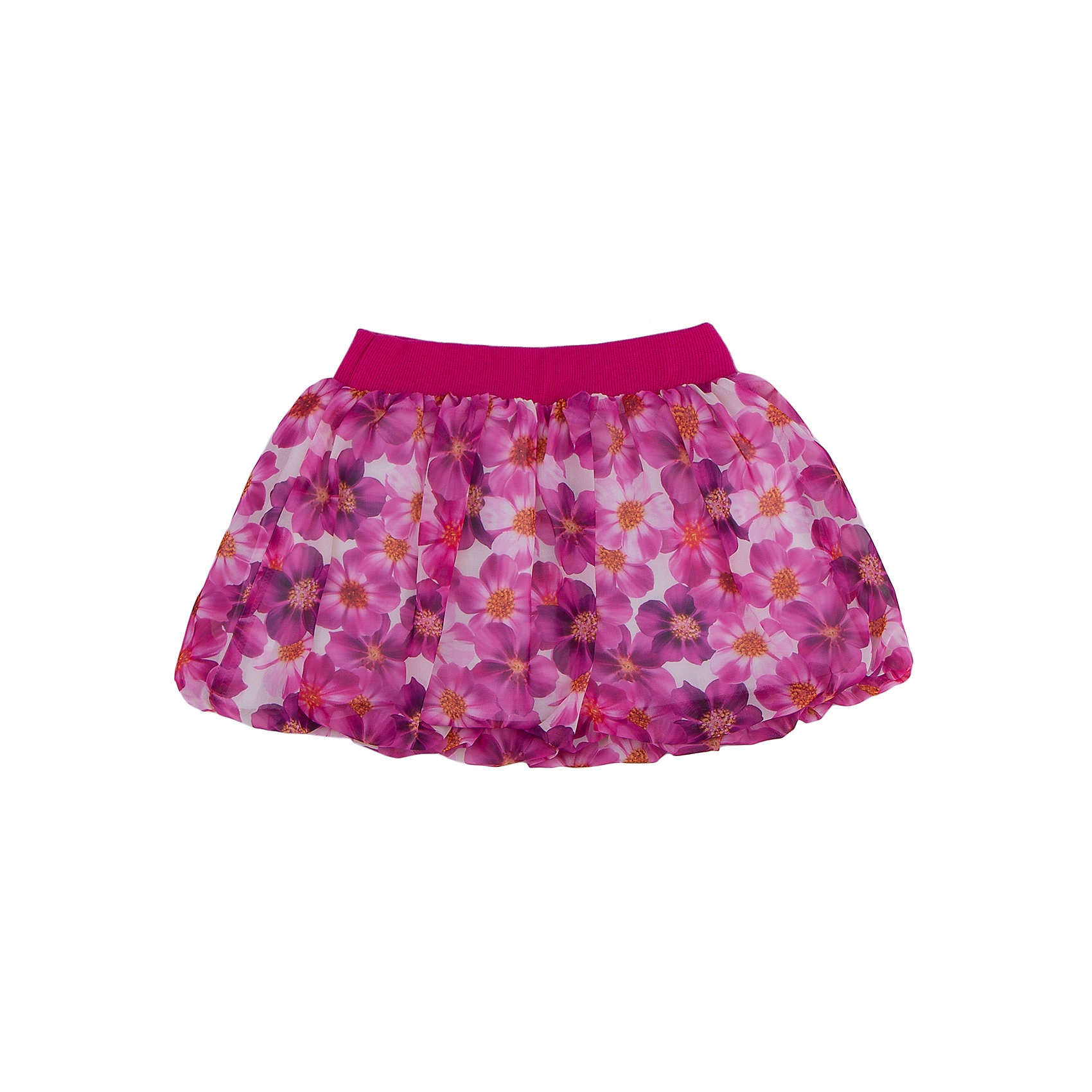 Юбка для девочки GoldyМодная юбка для девочки поможет разнообразить гардероб, создать подходящий погоде ансамбль. Удобный крой и качественный материал обеспечат ребенку комфорт при ношении этого изделия. <br>Юбка очень стильно смотрится благодаря актуальному дизайну и оригинальной расцветке. Она декорирована цветочным принтом. На поясе - широкая мягкая резинка. Материал - легкий, но прочный, отлично подходит для детской одежды, верх - шифон, подкладка состоит  из дышащего натурального льна. <br><br>Дополнительная информация:<br><br>материал: шифон, лён;<br>цвет: разноцветный;<br>цветочный принт;<br>на поясе - резинка.<br><br>Юбку для девочки от бренда Goldy (Голди) можно купить в нашем магазине.<br><br>Ширина мм: 207<br>Глубина мм: 10<br>Высота мм: 189<br>Вес г: 183<br>Цвет: разноцветный<br>Возраст от месяцев: 24<br>Возраст до месяцев: 36<br>Пол: Женский<br>Возраст: Детский<br>Размер: 98,104,110,116,122,92<br>SKU: 4793686