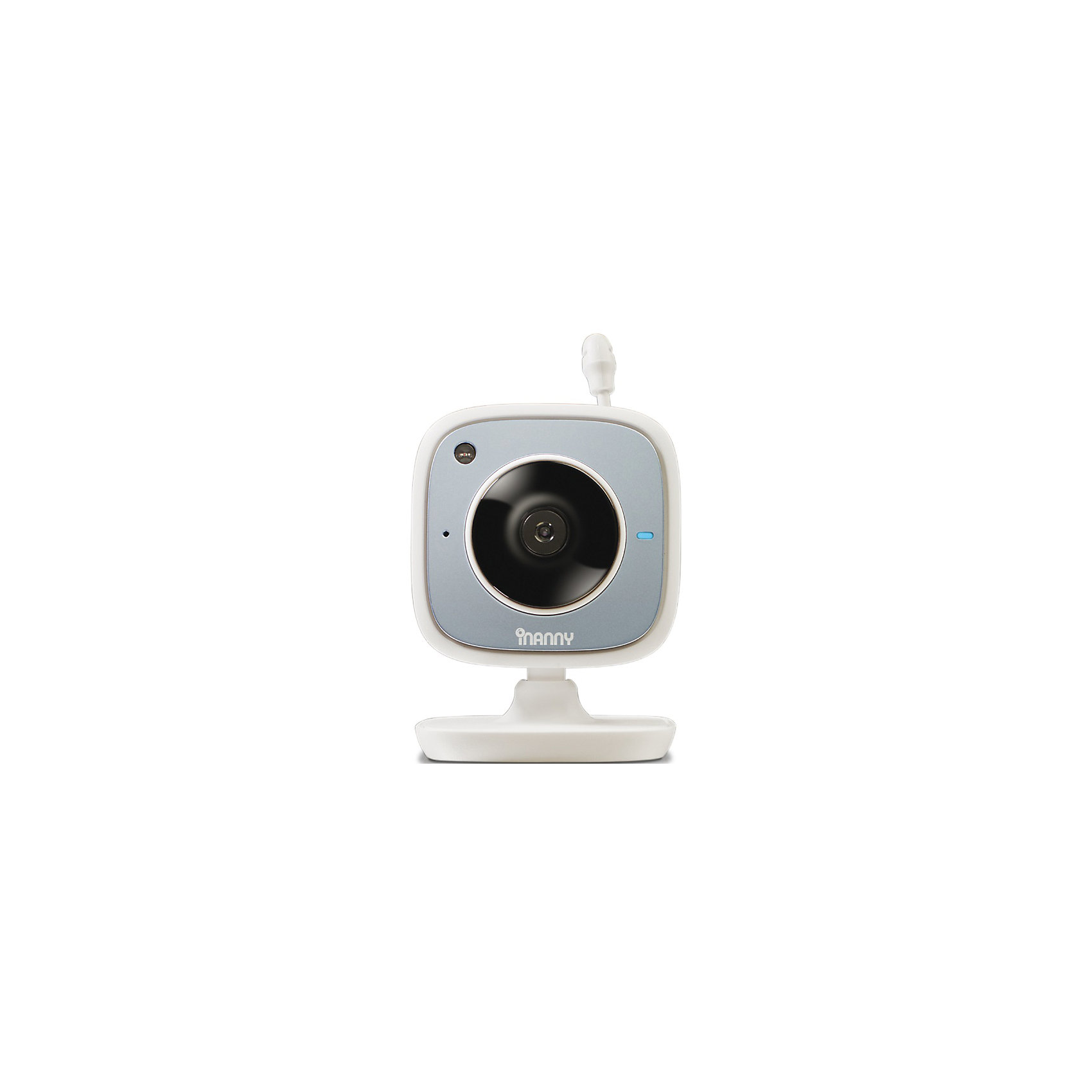 Камера IP, iNannyДетская бытовая техника<br>IP-камера iNanny с возможностью передачи данных через Wi-Fi поможет вам знать, что делает ваш малыш, даже когда вы не находитесь рядом с ним. Высокое качество изображения, двухсторонняя связь с ребенком, ночной режим, возможность подключения до 4 камер, определение температуры делают эту видеокамеру прекрасным подарком, который поможет маме заняться своими делами и быть спокойной за кроху. <br>Особенности:<br>-высококачественное изображение<br>-двухстороння связь<br>-пять колыбельных<br>-измерение температуры<br>-возможность просматривать изображение со смартфона, планшета или компьютера с помощью приложения iNanny monitors<br>-совместима с IOS и Android<br>Дополнительная информация:<br>Материал: пластик<br>Размеры: 22х11,5х6,5 см<br>Вес: 357 грамм<br>IP-камеру iNanny можно приобрести  в нашем интернет-магазине.<br><br>Ширина мм: 65<br>Глубина мм: 115<br>Высота мм: 220<br>Вес г: 357<br>Возраст от месяцев: 0<br>Возраст до месяцев: 24<br>Пол: Унисекс<br>Возраст: Детский<br>SKU: 4794358