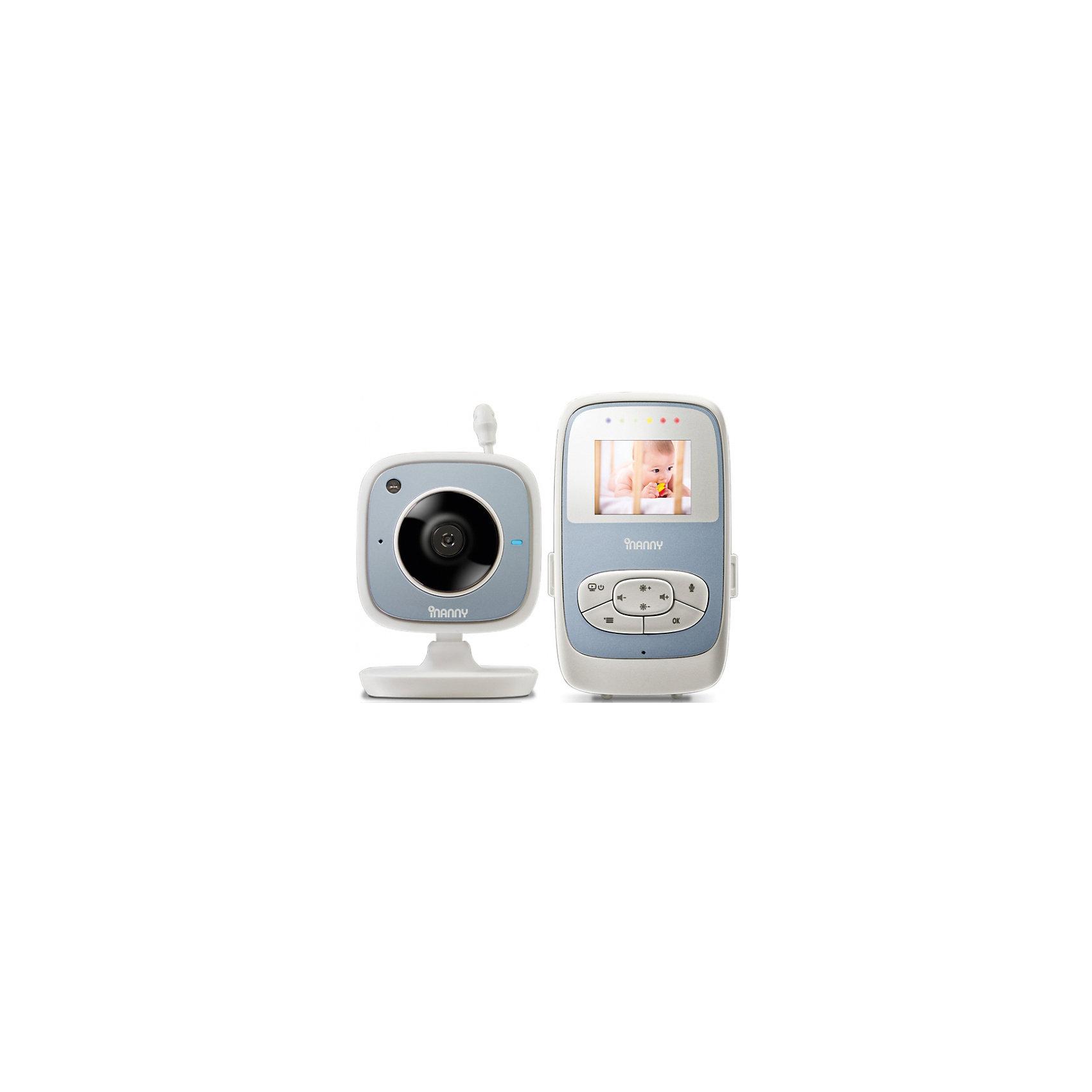 Видеоняня с LCD дисплеем 1.8, iNanny, цифроваяДетская бытовая техника<br>Цифровая видеоняня iNanny с жидкокристаллическим дисплеем позволит вам наблюдать за малышом даже когда он играет в другой комнате. Видеоняня оснащена возможность двухсторонней связи с ребенком, пятью колыбельными, ночным режимом. Есть возможность подключения четырех камер. Эта видеоняня позволит вам не беспокоиться о состоянии малыша.<br>Особенности:<br>-радиус действия 250 метров<br>-высокое качество изображения<br>-световой индикатор уровня шума<br>-LCD дисплей 1,8<br><br>Дополнительная информация:<br>Материал: пластик<br>Размер:22х11,5х6,5 см<br>Вес: 521 грамм<br>Цифровую видеоняню iNanny можно приобрести в нашем интернет-магазине.<br><br>Ширина мм: 65<br>Глубина мм: 115<br>Высота мм: 220<br>Вес г: 521<br>Возраст от месяцев: 0<br>Возраст до месяцев: 24<br>Пол: Унисекс<br>Возраст: Детский<br>SKU: 4794366