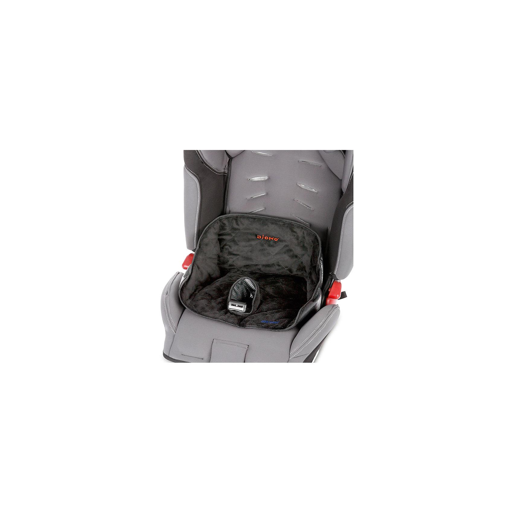 Водонепроницаемая накладка на сиденье Ultra Dry, DionoНакладка на сидение Diono Ultra Dry водонепроницаемая и отлично подойдет для автокресел и колясок. Накладка защитит сидение от крошек и воды при протекании подгузника или если ребенок пролил жидкость. Верхние ткани мягкие, не вызывают раздражения на нежной коже ребенка.<br>Особенности:<br>-легко использовать<br>-подходит для всех колясок, автокресел и стульчиков<br>-накладку можно стирать, в том числе в стиральной машине<br><br>Дополнительная информация:<br>Цвет: черный<br>Материал: плюшевая ткань<br>Размер: 35х15х30 см<br>Вес: 485 грамм<br>Вы можете приобрести накладку на сидение Diono Ultra Dry в нашем интернет-магазине.<br><br>Ширина мм: 300<br>Глубина мм: 150<br>Высота мм: 350<br>Вес г: 485<br>Возраст от месяцев: 9<br>Возраст до месяцев: 48<br>Пол: Унисекс<br>Возраст: Детский<br>SKU: 4794369
