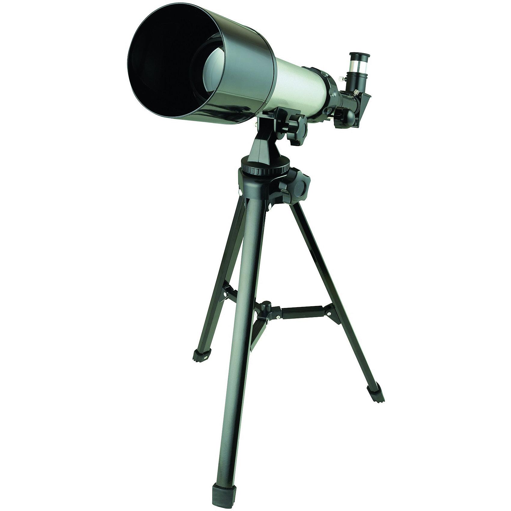 Телескоп, Edu-toysТелескопы<br>Это восхитительный и один из лучших в своем сегменте телескоп, который перенесет вашего ребенка в далекий и неизведанный мир космоса, покажет разнообразные созвездия и звезды, поможет изучить планеты: Плутон, Меркурий, Венера, Марс, а также Большую медведицу и Малую - список может быть бесконечным.<br><br>Также, ваш ребенок сможет наблюдать за главным спутником Земли - Луной, изучить известные всему миру кратеры, увидеть её во всей красе в полнолуние или любоваться на молодой месяц. Астрономия - одна из самых загадочных и прекрасных наук. Если Вам повезло и она стала для Вас любимым хобби, то такой аппарат как телескоп - просто необходимость в доме.<br><br>Технические характеристики:<br><br>- Корпус телескопа 65 см;<br>- Линза объектива 50 мм;<br>- Трубка окуляра с Zoom-ом;<br>- Ручка регулировки;<br>- Линзы 45/40 мм;<br>- Тренога 45 см.<br><br>Тип: рефрактор.<br>Оптическая схема: ахромат.<br>Тип монтировки: штатив.<br>Диаметр объектива: до 60 мм.<br><br>Ширина мм: 450<br>Глубина мм: 80<br>Высота мм: 320<br>Вес г: 1200<br>Возраст от месяцев: 96<br>Возраст до месяцев: 192<br>Пол: Унисекс<br>Возраст: Детский<br>SKU: 4794974