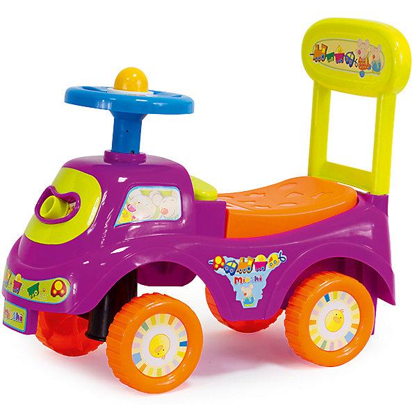 Автомобиль-каталка Маленький путешественник, MioshiМашинки-каталки<br>Толокар – это современная машинка-каталка, которая предназначена для детей от 1 года и подходит для игр дома и на улице. Машинка оснащена игровыми элементами, которые помогут развить тактильные ощущения и визуально-звуковое восприятие малыша. Наличие спинки обеспечит удобное положение ребёнка во время игры, а яркий дизайн будет радовать не только детей, но и взрослых!<br><br>Преимущества: <br>• Привлекательный дизайн<br>• Функциональные элементы: спинка-ручка, сиденье-багажник<br>• Развивающая игровая панель<br>• Упаковка на русском языке<br><br>Ширина мм: 480<br>Глубина мм: 220<br>Высота мм: 410<br>Вес г: 1883<br>Возраст от месяцев: 12<br>Возраст до месяцев: 36<br>Пол: Унисекс<br>Возраст: Детский<br>SKU: 4795400