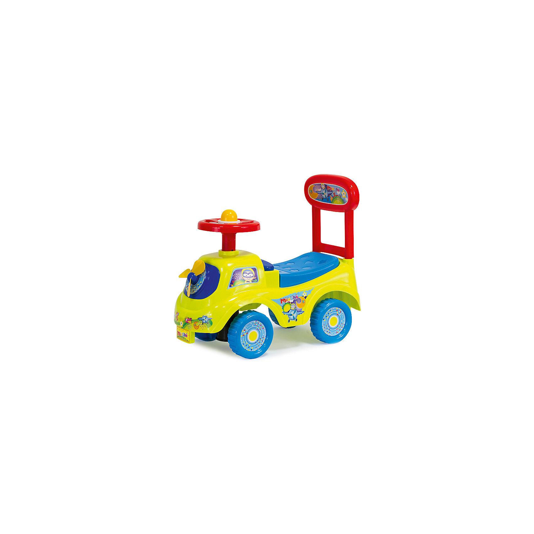 Автомобиль-каталка  Штурман, MioshiТолокар – это современная машинка-каталка, которая предназначена для детей от 1 года и подходит для игр дома и на улице. Машинка оснащена игровыми элементами, которые помогут развить тактильные ощущения и визуально-звуковое восприятие малыша. Наличие спинки обеспечит удобное положение ребёнка во время игры, а яркий дизайн будет радовать не только детей, но и взрослых!<br><br>Преимущества: <br>• Привлекательный дизайн<br>• Функциональные элементы: спинка-ручка, сиденье-багажник<br>• Развивающая игровая панель<br>• Упаковка на русском языке<br><br>Ширина мм: 480<br>Глубина мм: 220<br>Высота мм: 410<br>Вес г: 1883<br>Возраст от месяцев: 12<br>Возраст до месяцев: 36<br>Пол: Унисекс<br>Возраст: Детский<br>SKU: 4795403