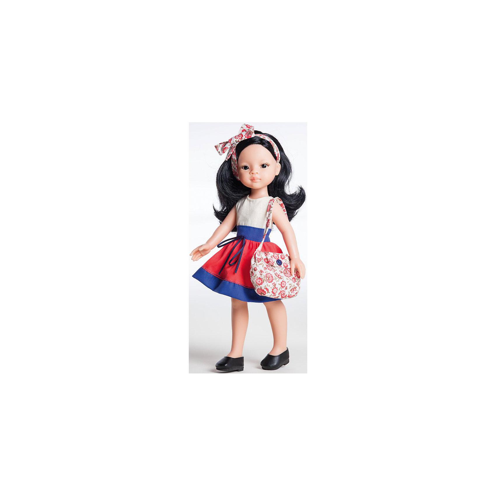 Paola Reina Кукла Лиу, 32 см, Paola Reina paola reina кукла клэр 32 см paola reina