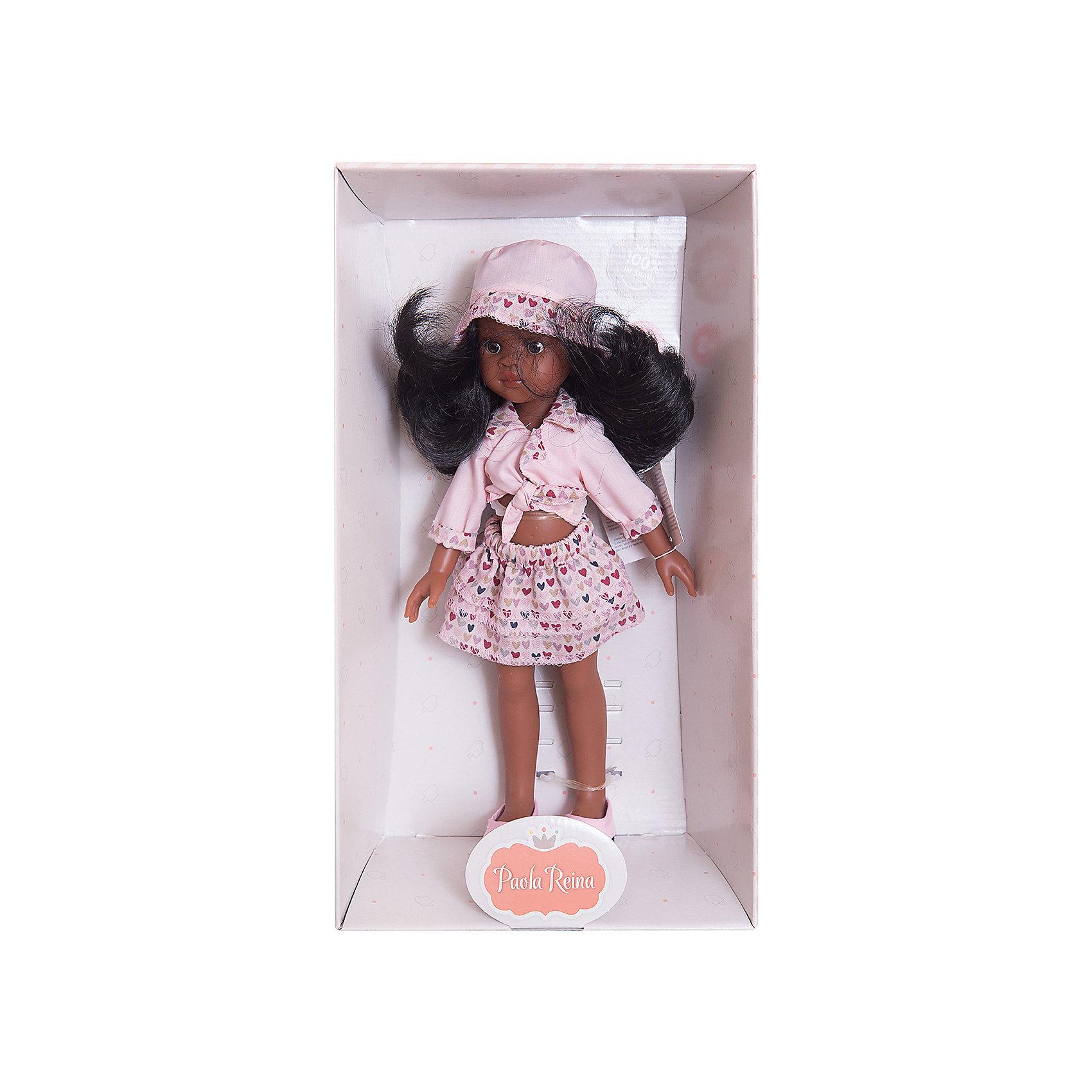 Кукла Нора, 32 см, Paola ReinaКлассические куклы<br>Кукла имеет нежный ванильный аромат; уникальный и неповторимый дизайн лица и тела; ручная работа (ресницы, веснушки, щечки, губы, прическа); волосы легко расчесываются и блестят; ручки, ножки и голова поворачиваются. <br>Качество подтверждено нормами безопасности EN17 ЕЭС. <br>Материалы: кукла изготовлена из винила; глаза выполнены в виде кристалла из прозрачного твердого пластика; волосы сделаны из высококачественного нейлона.<br><br>Ширина мм: 110<br>Глубина мм: 230<br>Высота мм: 410<br>Вес г: 667<br>Возраст от месяцев: 36<br>Возраст до месяцев: 144<br>Пол: Женский<br>Возраст: Детский<br>SKU: 4795911