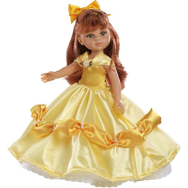 Кукла Кристи принцесса 32 см, Paola ReinaКуклы<br>Кукла имеет нежный ванильный аромат; уникальный и неповторимый дизайн лица и тела; ручная работа (ресницы, веснушки, щечки, губы, прическа); волосы легко расчесываются и блестят; ручки, ножки и голова поворачиваются. <br>Качество подтверждено нормами безопасности EN17 ЕЭС. <br>Материалы: кукла изготовлена из винила; глаза выполнены в виде кристалла из прозрачного твердого пластика; волосы сделаны из высококачественного нейлона.<br>Ширина мм: 110; Глубина мм: 230; Высота мм: 410; Вес г: 708; Возраст от месяцев: 36; Возраст до месяцев: 144; Пол: Женский; Возраст: Детский; SKU: 4795912;