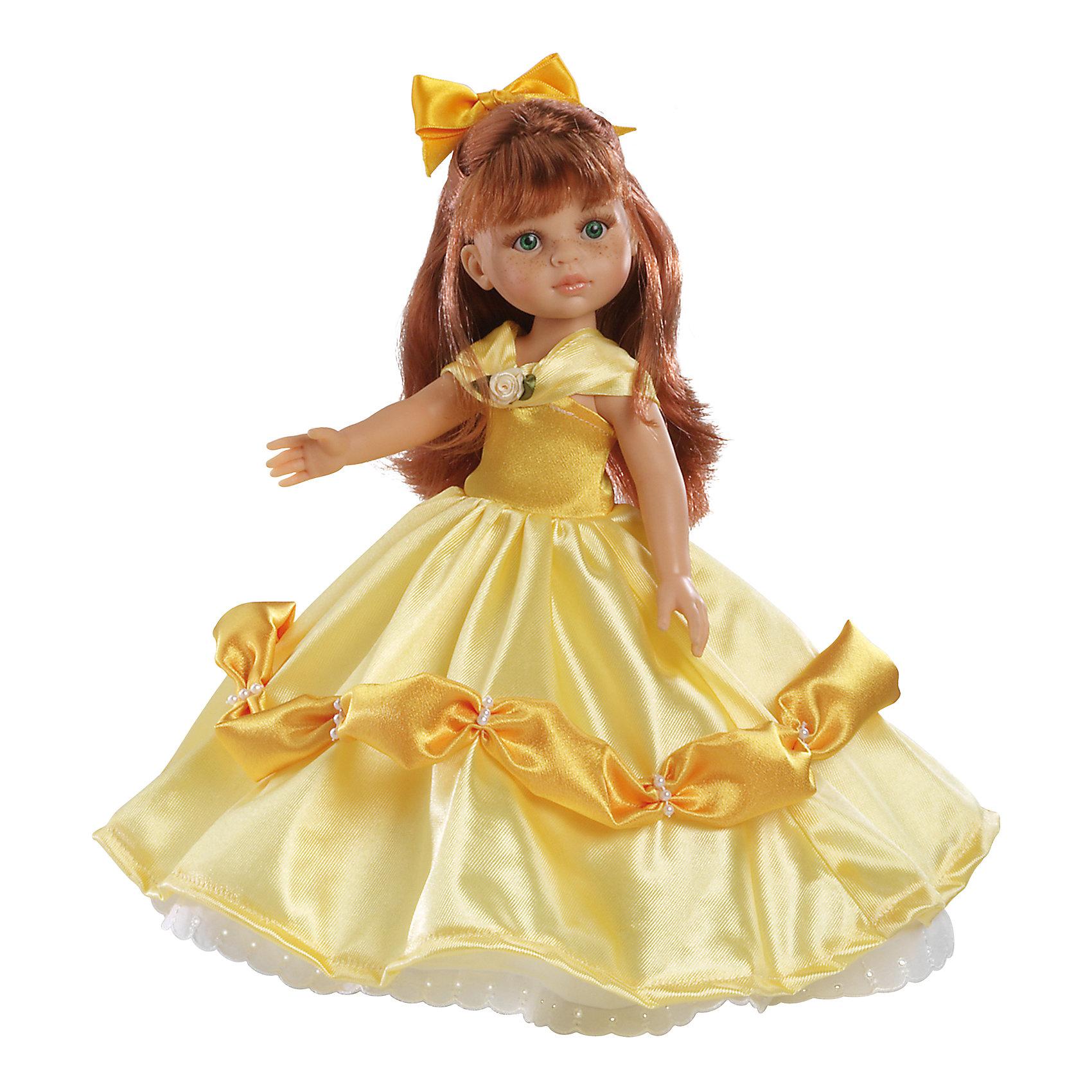 Кукла Кристи принцесса 32 см, Paola ReinaКлассические куклы<br>Кукла имеет нежный ванильный аромат; уникальный и неповторимый дизайн лица и тела; ручная работа (ресницы, веснушки, щечки, губы, прическа); волосы легко расчесываются и блестят; ручки, ножки и голова поворачиваются. <br>Качество подтверждено нормами безопасности EN17 ЕЭС. <br>Материалы: кукла изготовлена из винила; глаза выполнены в виде кристалла из прозрачного твердого пластика; волосы сделаны из высококачественного нейлона.<br><br>Ширина мм: 110<br>Глубина мм: 230<br>Высота мм: 410<br>Вес г: 708<br>Возраст от месяцев: 36<br>Возраст до месяцев: 144<br>Пол: Женский<br>Возраст: Детский<br>SKU: 4795912
