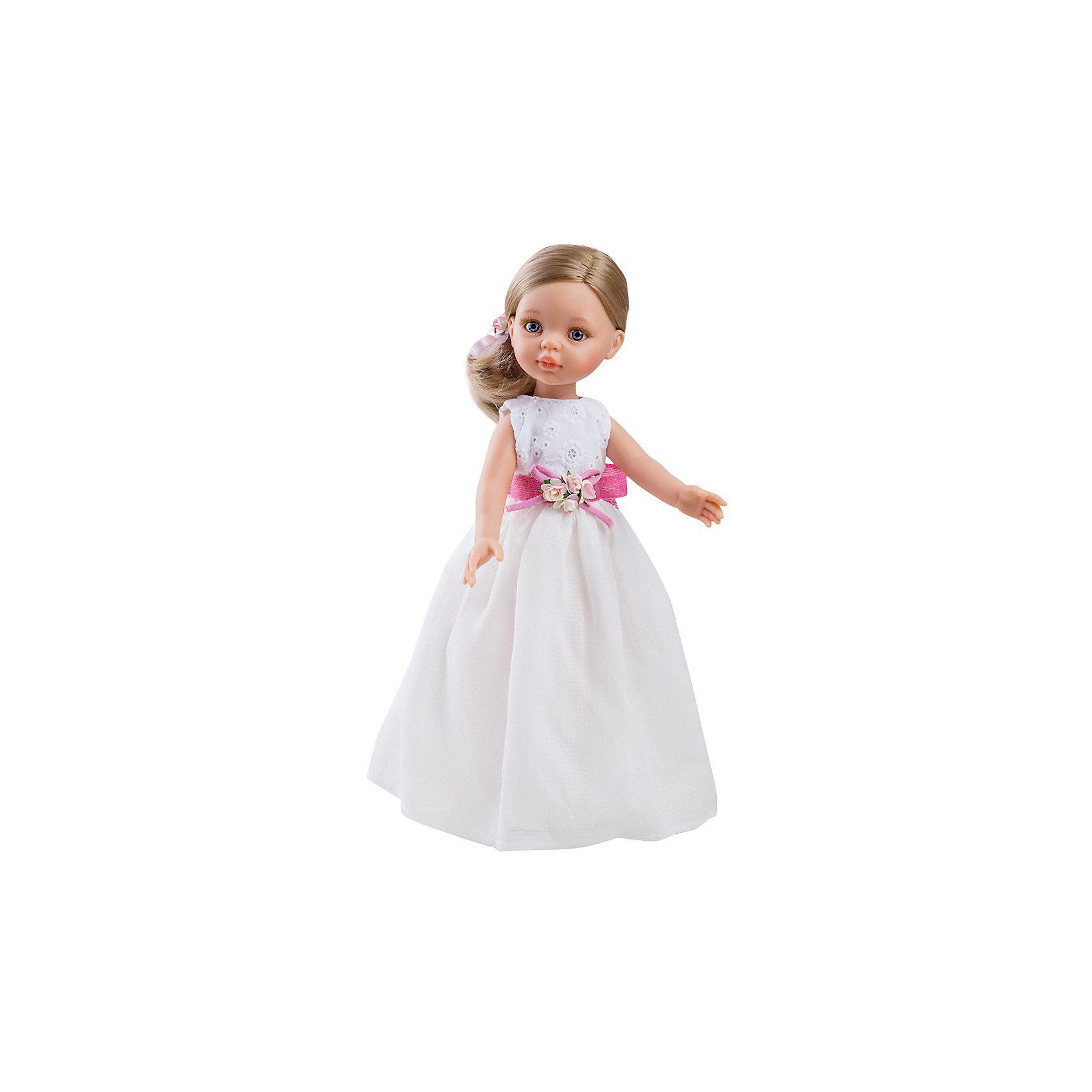 Кукла Клэр, 32 см, Paola ReinaКлассические куклы<br>Кукла имеет нежный ванильный аромат; уникальный и неповторимый дизайн лица и тела; ручная работа (ресницы, веснушки, щечки, губы, прическа); волосы легко расчесываются и блестят; ручки, ножки и голова поворачиваются. <br>Качество подтверждено нормами безопасности EN17 ЕЭС. <br>Материалы: кукла изготовлена из винила; глаза выполнены в виде кристалла из прозрачного твердого пластика; волосы сделаны из высококачественного нейлона.<br><br>Ширина мм: 110<br>Глубина мм: 230<br>Высота мм: 410<br>Вес г: 667<br>Возраст от месяцев: 36<br>Возраст до месяцев: 144<br>Пол: Женский<br>Возраст: Детский<br>SKU: 4795916