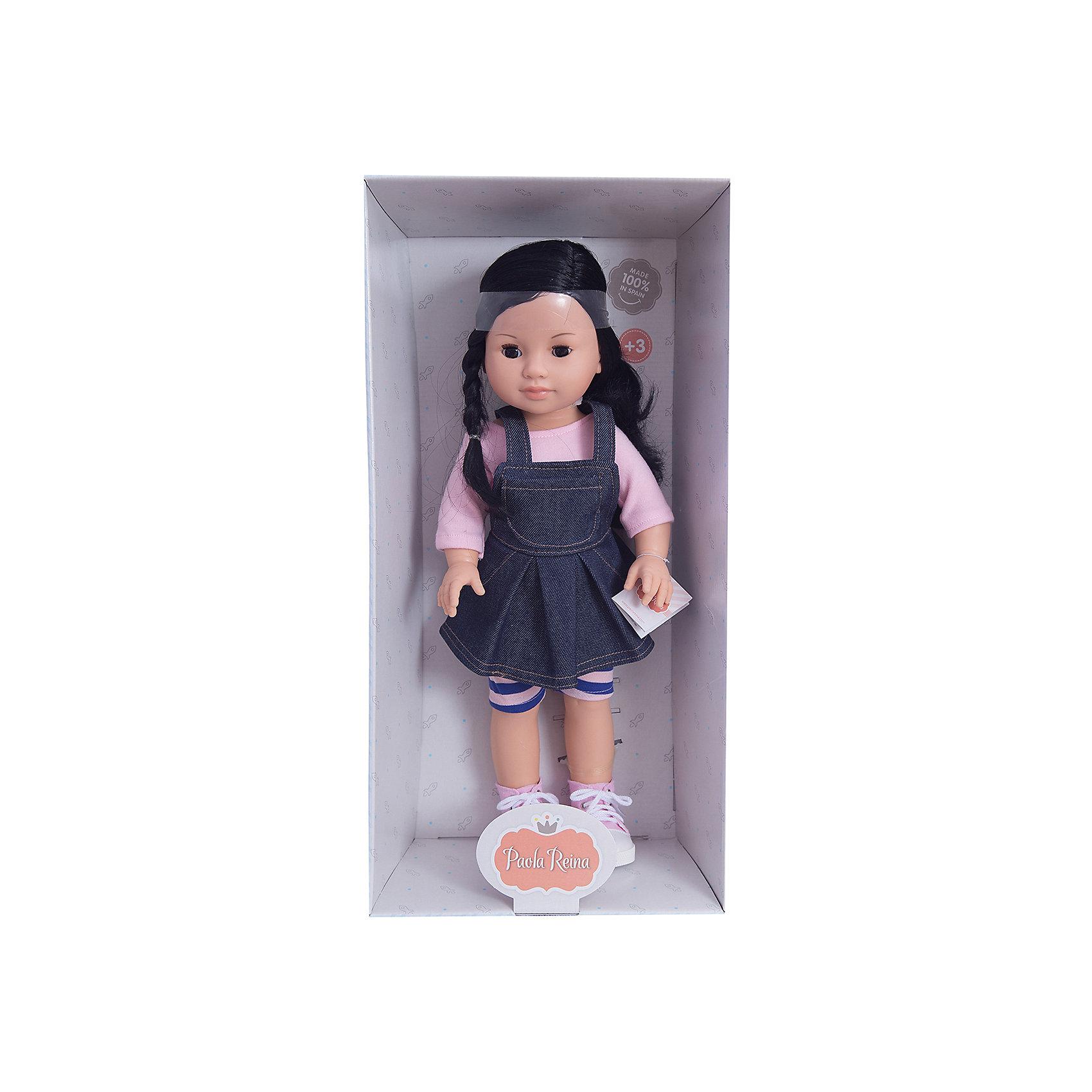 Кукла Лис, 42 см, Paola ReinaКлассические куклы<br>Кукла имеет нежный ванильный аромат; уникальный и неповторимый дизайн лица и тела; ручная работа (ресницы, веснушки, щечки, губы, прическа); волосы легко расчесываются и блестят; ручки, ножки и голова поворачиваются. <br>Качество подтверждено нормами безопасности EN17 ЕЭС. <br>Материалы: кукла изготовлена из винила; глаза выполнены в виде кристалла из прозрачного твердого пластика; волосы сделаны из высококачественного нейлона.<br><br>Ширина мм: 250<br>Глубина мм: 120<br>Высота мм: 500<br>Вес г: 1333<br>Возраст от месяцев: 36<br>Возраст до месяцев: 144<br>Пол: Женский<br>Возраст: Детский<br>SKU: 4795922