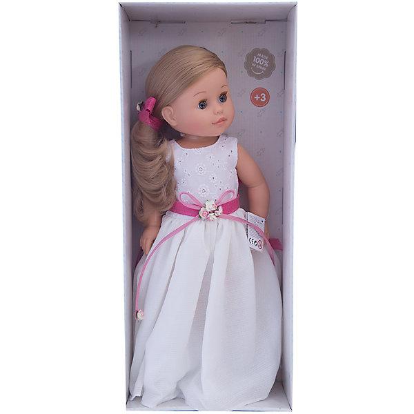 Кукла Эмма, 42 см, Paola ReinaБренды кукол<br>Кукла имеет нежный ванильный аромат; уникальный и неповторимый дизайн лица и тела; ручная работа (ресницы, веснушки, щечки, губы, прическа); волосы легко расчесываются и блестят; ручки, ножки и голова поворачиваются. <br>Качество подтверждено нормами безопасности EN17 ЕЭС. <br>Материалы: кукла изготовлена из винила; глаза выполнены в виде кристалла из прозрачного твердого пластика; волосы сделаны из высококачественного нейлона.<br><br>Ширина мм: 250<br>Глубина мм: 120<br>Высота мм: 500<br>Вес г: 1333<br>Возраст от месяцев: 36<br>Возраст до месяцев: 144<br>Пол: Женский<br>Возраст: Детский<br>SKU: 4795924
