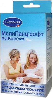 Штанишки удлиненные MoliPants Soft (M) 1 шт., Hartmann