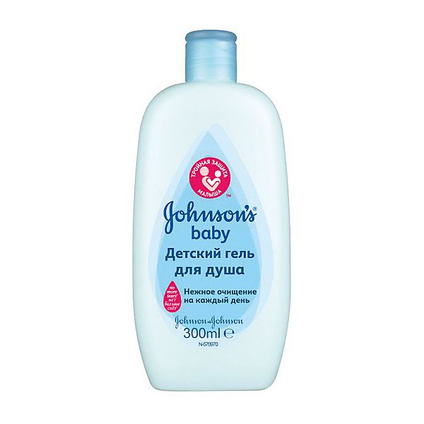 Гель для душа 300мл, Johnson`s babyКосметика для малыша<br>детский гель для душа в линейке Johnson's baby, который позволит мягко, безопасно и эффективно вымыть вашего малыша! Кроха даже может сделать это сам! Ведь теперь он пользуется «гелем для душа» вместо «пены» - совсем как взрослый!<br><br>Ширина мм: 42<br>Глубина мм: 83<br>Высота мм: 171<br>Вес г: 385<br>Возраст от месяцев: -2147483648<br>Возраст до месяцев: 2147483647<br>Пол: Унисекс<br>Возраст: Детский<br>SKU: 4796696