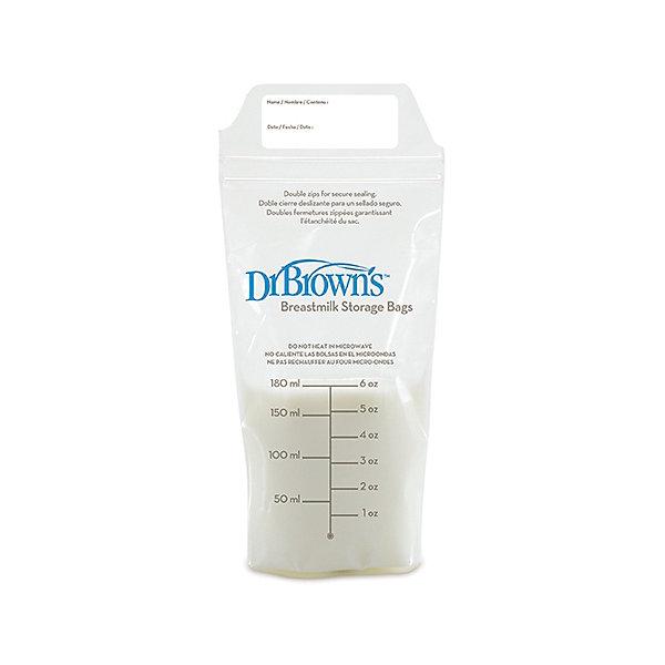 Пакеты для хранения грудного молока, 180 мл, Dr. BrownМолокоотсосы и аксессуары<br>Набор пакетов для хранения замороженного грудного молока. Пакеты прекрасно подходят для длительного хранения сцеженного материнского молока в морозильной камере. <br><br>Дополнительная информация:<br><br>- Объем: 180 мл.<br>- Количество: 25 шт.<br><br>Купить пакеты для хранения грудного молока, 180 мл., от Dr. Brown, можно в нашем магазине.<br><br>Ширина мм: 45<br>Глубина мм: 108<br>Высота мм: 153<br>Вес г: 175<br>Возраст от месяцев: 0<br>Возраст до месяцев: 36<br>Пол: Унисекс<br>Возраст: Детский<br>SKU: 4796742