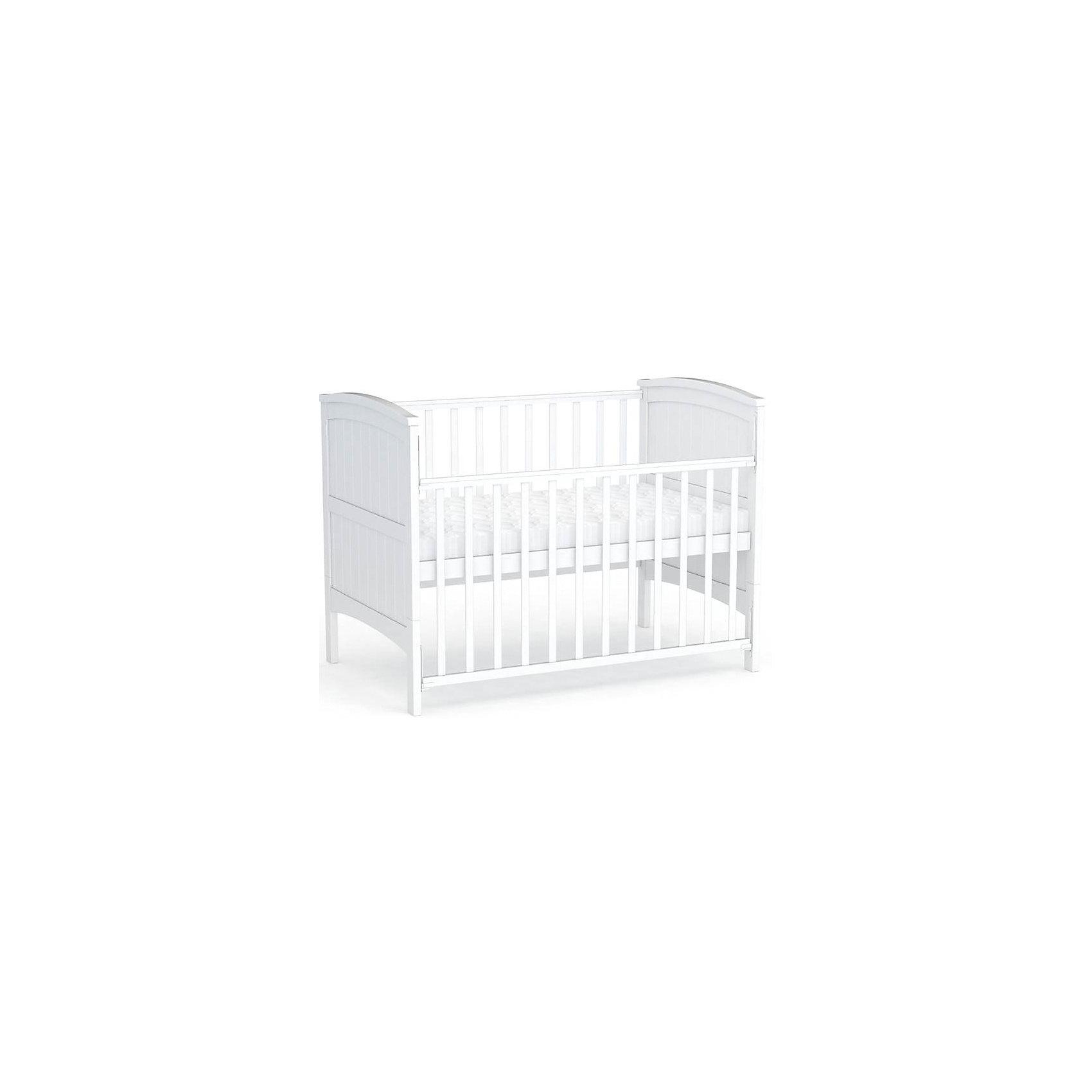 Кровать-трансформер 810, Фея, белыйКровать-трансформер Фея выполнена из натурального дерева, имеет стильный и лаконичный дизайн, который прекрасно впишется в интерьер любой детской комнаты.<br>Ортопедическое основание способствует правильному развитию осанки ребенка, высота ложа регулируется в двух положениях - когда ваш кроха подрастет, опустите дно кровати и не беспокойтесь о том, что юный непоседа сможет самостоятельно выбраться из своего гнездышка. При помощи специального механизма передняя стенка модели легко и быстро опускается даже одной рукой.<br>Кровать Фея 810 - это многофункциональная мебель, которую можно использовать с рождения малыша. Пока ваш ребенок маленький она используется со стандартными боковыми стенками. Когда же кроха подрастет, боковины и нижние части спинок снимаются и кровать превращается в обычную классическую модель. <br><br>Дополнительная информация:<br><br>- Материал: дерево (массив березы).<br>- Размеры: 97,4 х 154,6 х 80 см.<br>- Для матраса размером: 70х140 см.<br>- Ложе регулируется в 2-х положениях.<br>- Передняя стенка опускается (механизм Автостенка).<br>- Накладки из ПВХ.<br>- Ортопедическое основание.<br>- Съемные боковые стенки и нижние части спинок.<br><br>Кровать-трансформер 810, Фея, белую, можно купить в нашем магазине.<br><br>Ширина мм: 790<br>Глубина мм: 1470<br>Высота мм: 974<br>Вес г: 24000<br>Возраст от месяцев: 0<br>Возраст до месяцев: 36<br>Пол: Унисекс<br>Возраст: Детский<br>SKU: 4796979
