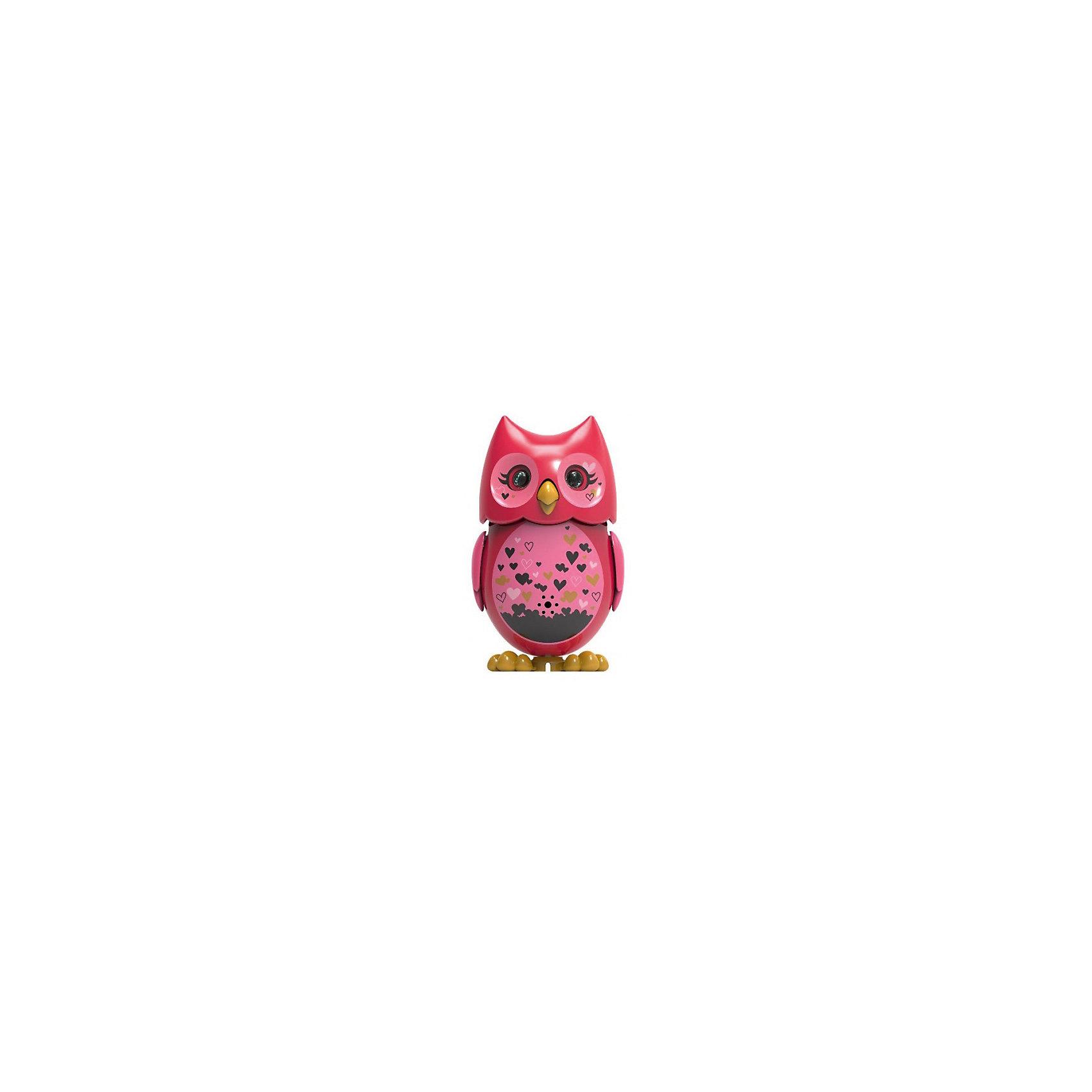 Поющая сова с кольцом, красная, DigiBirdsРобокар Поли<br>Поющая сова с кольцом, красная, DigiBirds, Silverlit (Сильверлит) ? интерактивная птичка от мирового производителя детских товаров Silverlit (Сильверлит). Сова оснащена световыми и звуковыми эффектами. Ее творческий репертуар состоит из 55 песенок, которые исполняются как в сольном виде, так и в хоровом. Имея столь разнообразный репертуар, эта игрушка вряд ли быстро наскучит вашему ребенку. Активируется сова тремя способами: на нее достаточно подуть или посвистеть в свисток, который идет в комплекте, или резко взмахнуть по воздуху, держа птичку в руке. Кроме того, сова умеет танцевать: в такт музыке машет крыльями, раскрывает клюв и поворачивает головой. Кроме того, пение сопровождается свечением больших очаровательных глаз.<br>Поющая сова с кольцом, красная, DigiBirds, Silverlit (Сильверлит) ? совершенно уникальная игрушка, которая не только развлекает вашего ребенка, но и занимается его музыкальным развитием. В первую очередь, она способствует формированию музыкального слуха и памяти. Простые действия: подуть в свисток, подуть на сову ? простые, но очень эффективные упражнения, которые направлены на развитие речевого аппарата.<br>Поющая сова с кольцом, красная, DigiBirds, Silverlit (Сильверлит) ? это миниатюрный музыкальный центр для вашего ребенка.<br><br>Дополнительная информация:<br><br>- Вид игр: сюжетно-ролевые игры <br>- Предназначение: для дома<br>- Батарейки: 3 шт. LR44<br>- Материал: высококачественный пластик<br>- Размер (ДхШхВ): 6,4*15,2*10,2 см<br>- Вес: 91 г<br>- Комплектация: сова, свисток-кольцо для птички, инструкция, батарейки<br>- Особенности ухода: протирать влажной губкой<br><br>ВНИМАНИЕ! Данный артикул имеется в наличии в разных цветовых исполнениях (сиреневый, красный, бирюзовый, белый, розовый, оранжевый). К сожалению, заранее выбрать определенный цвет невозможно. <br><br>Подробнее:<br><br>• Для детей в возрасте: от 3 лет и до 7 лет <br>• Страна производитель: Китай<br>• Торговый бренд
