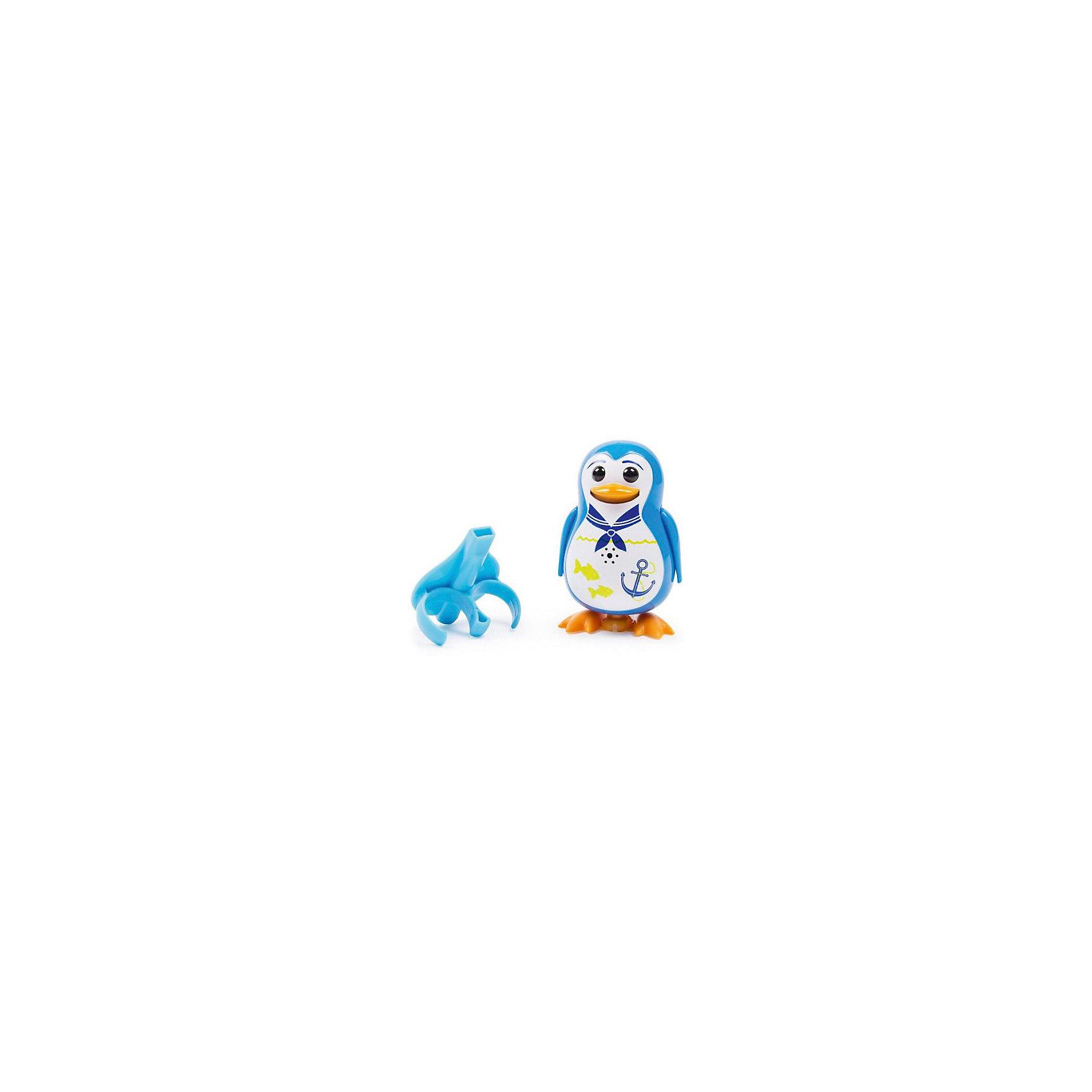 Silverlit Поющий пингвин с кольцом, синий, DigiBirds мягкая игрушка пингвин tux купить