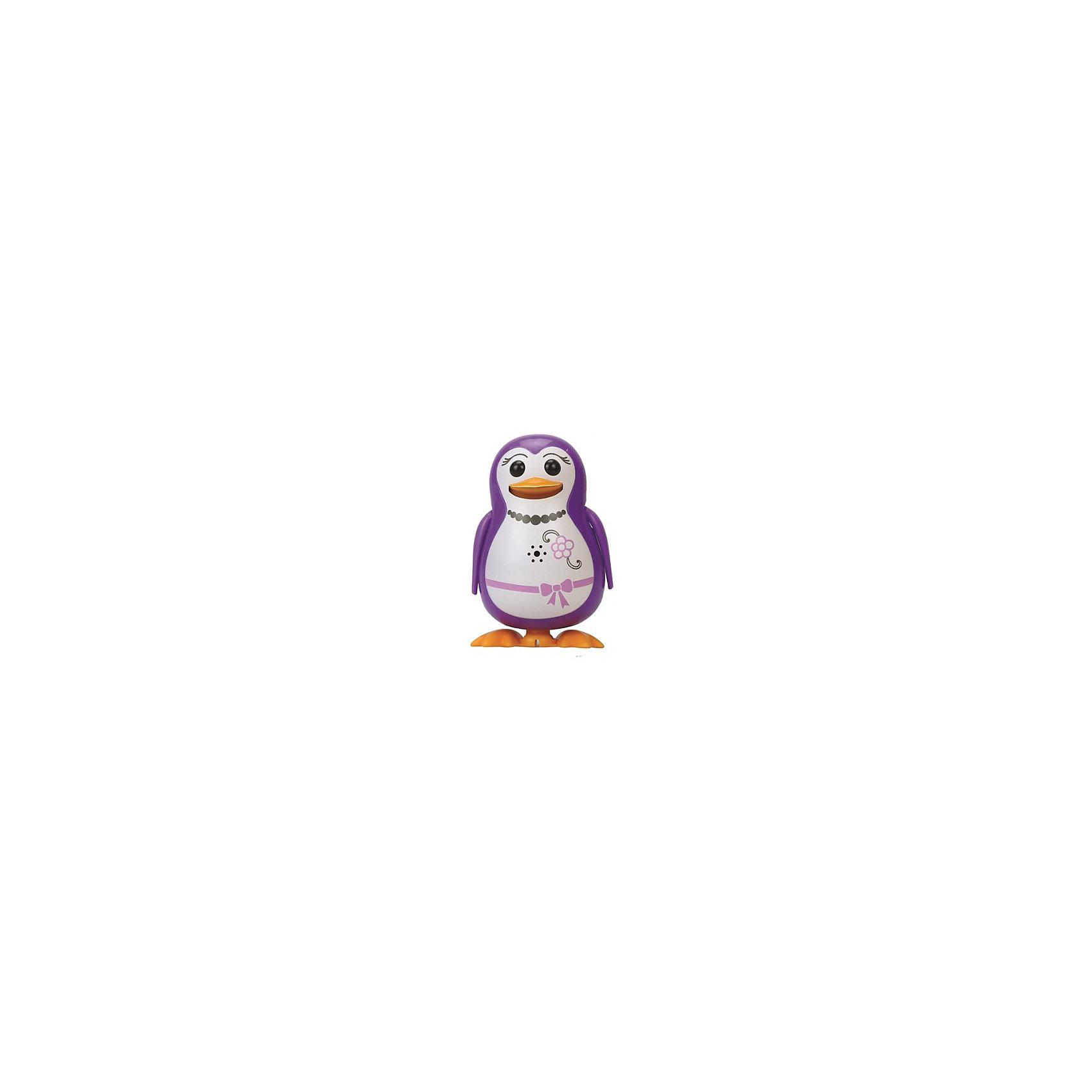 Silverlit Поющий пингвин с кольцом, фиолетовый, DigiBirds silverlit digibirds пингвин фигурист с кольцом серый