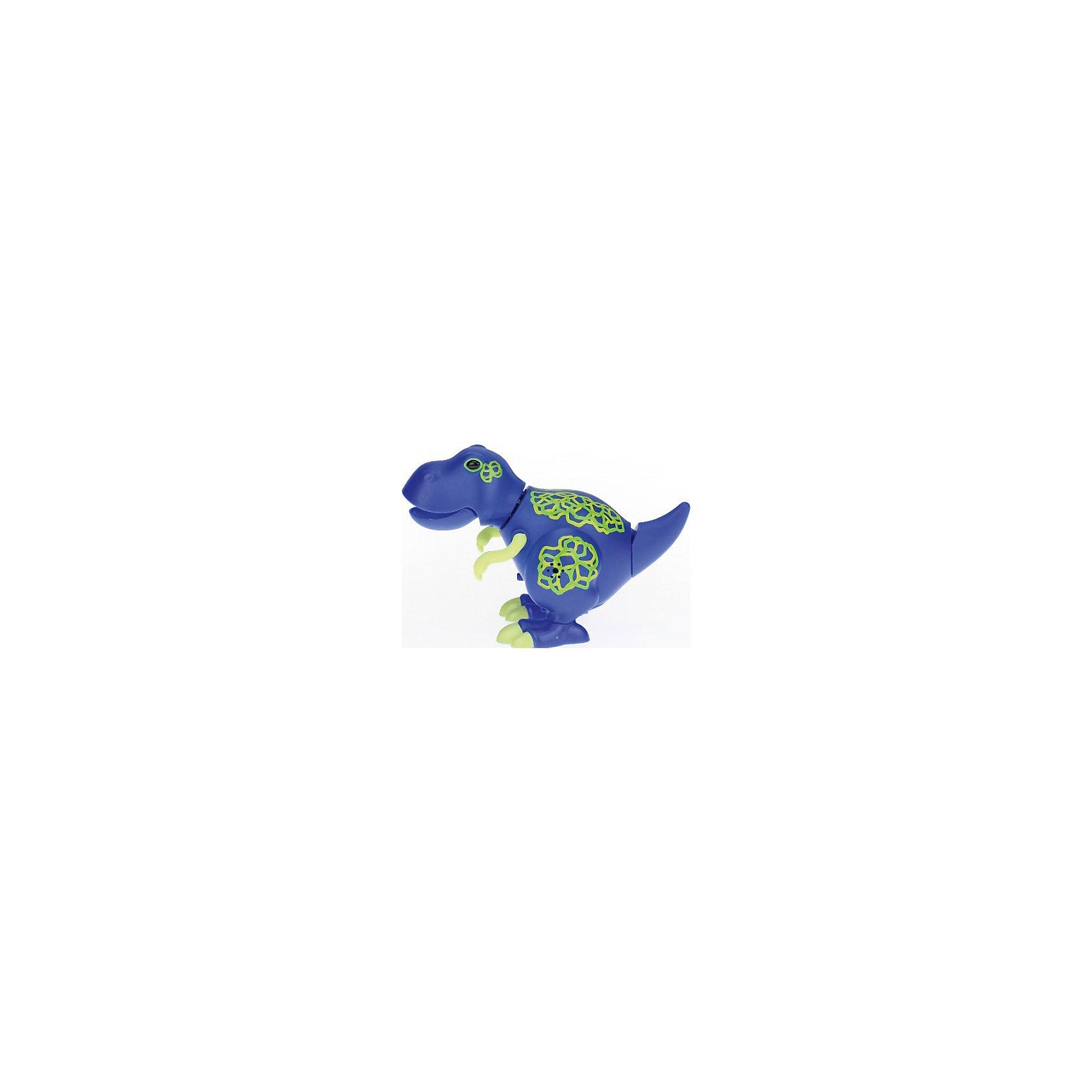 Динозавр, DigiBirds, синийДраконы и динозавры<br>Динозавр, DigiBirds, синий, Silverlit (Сильверлит) ? игрушка из серии DigiBirds. Динозаврик умеет реветь и петь 55 песенок, которые исполняются как в сольном виде, так и в хоровом. Переключение на сольный или хоровой режим осуществляется за счет специального переключателя. Во время пения динозаврик двигается в такт музыке. Игрушка активируется после хлопка в ладоши. Динозаврик умеет исполнять не только выученный репертуар, но может записывать и новые звуки.<br>Динозавр, DigiBirds, синий, Silverlit (Сильверлит) ? совершенно уникальная игрушка, которая не только развлекает вашего ребенка, но и занимается его музыкальным развитием. В первую очередь, она способствует формированию музыкального слуха и памяти. Простые действия: подуть в свисток, подуть на сову ? простые, но очень эффективные упражнения, которые направлены на развитие речевого аппарата.<br>Динозавр, DigiBirds, синий, Silverlit (Сильверлит) ? это миниатюрный музыкальный центр для вашего ребенка.<br><br>Дополнительная информация:<br><br>- Вид игр: сюжетно-ролевые игры <br>- Предназначение: для дома<br>- Дополнительные функции: синхронизация со всеми персонажами DigiFriends<br>- Батарейки: 3 шт. LR44<br>- Материал: высококачественный пластик<br>- Размер (ДхШхВ): 11,5*15*6,2 см<br>- Вес: 128 г<br>- Комплектация: динозавр, инструкция, батарейки<br>- Особенности ухода: протирать влажной губкой<br><br><br>ВНИМАНИЕ! Данный артикул имеется в наличии в разных цветовых исполнениях (черный, синий). К сожалению, заранее выбрать определенный цвет невозможно. <br><br><br>Подробнее:<br><br>• Для детей в возрасте: от 3 лет и до 7 лет <br>• Страна производитель: Китай<br>• Торговый бренд: Silverlit<br><br>Динозавра, DigiBirds, синего, Silverlit (Сильверлит) можно купить в нашем интернет-магазине.<br><br>Ширина мм: 115<br>Глубина мм: 150<br>Высота мм: 62<br>Вес г: 128<br>Возраст от месяцев: 36<br>Возраст до месяцев: 84<br>Пол: Унисекс<br>Возраст: Детский<br>SKU: 4797178
