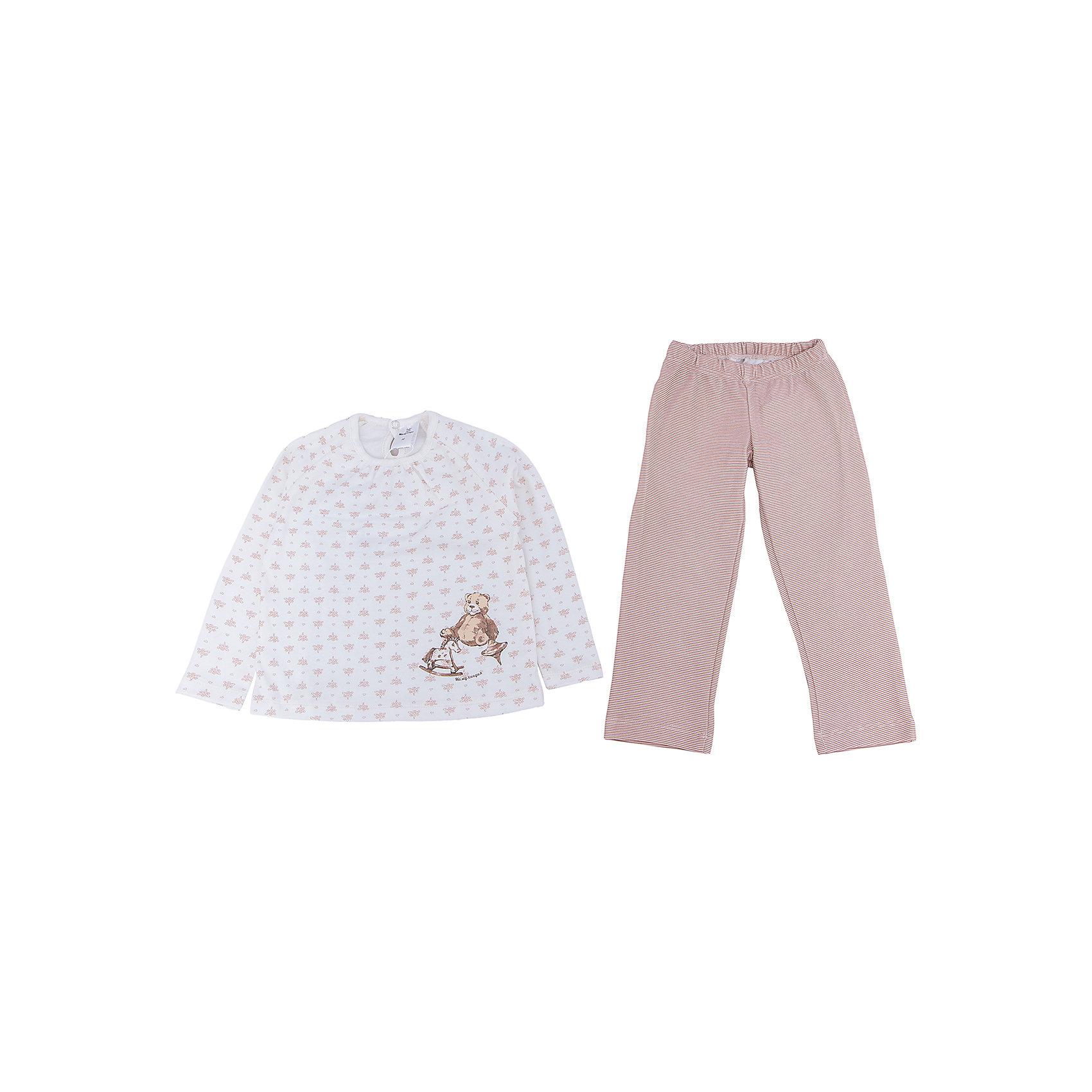 Комплект МамуляндияКомплект домашний (пижама)  для детей, оформлен гипоаллергенным водным принтом . Изготовлен из трикотажного полотна высшего качества с фирменным набивным рисунком Мамуляндия. <br>Состав 100% хлопок (пенье)<br>Размеры: <br>Рекомендации по уходу: стирать при 40 С, гладить при средней температуре, носить с удовольствием. Состав: 100% хлопок<br><br>Ширина мм: 281<br>Глубина мм: 70<br>Высота мм: 188<br>Вес г: 295<br>Цвет: бежевый<br>Возраст от месяцев: 72<br>Возраст до месяцев: 84<br>Пол: Унисекс<br>Возраст: Детский<br>Размер: 122,86,92,98,104,110,116<br>SKU: 4797229