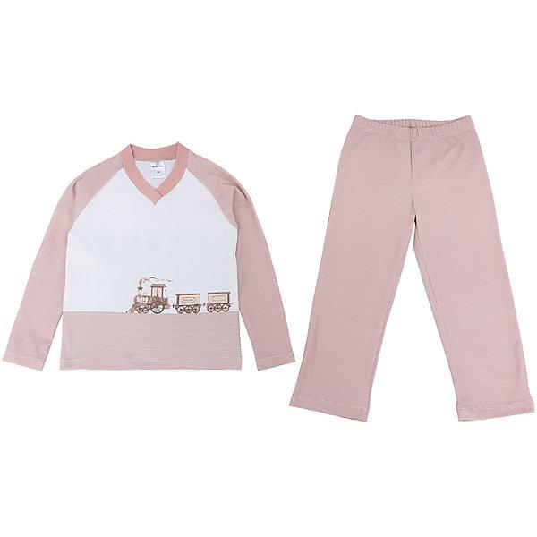 Пижама МамуляндияПижамы<br>Комплект домашний (пижама)  для детей, оформлен гипоаллергенным водным принтом . Изготовлен из трикотажного полотна высшего качества.<br>Состав 100% хлопок (пенье)<br>Размеры: <br>Рекомендации по уходу: стирать при 40 С, гладить при средней температуре, носить с удовольствием. Состав: 100% хлопок<br><br>Ширина мм: 157<br>Глубина мм: 13<br>Высота мм: 119<br>Вес г: 200<br>Цвет: бежевый<br>Возраст от месяцев: 12<br>Возраст до месяцев: 18<br>Пол: Унисекс<br>Возраст: Детский<br>Размер: 86,92,98,122,116,110,104<br>SKU: 4797237