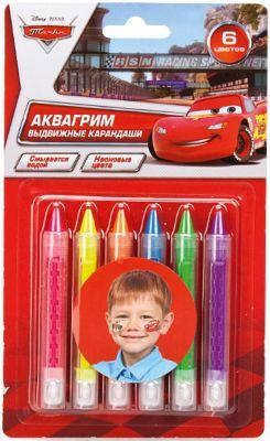Играем вместе Аквагрим карандаши Multiart , Disney Cars