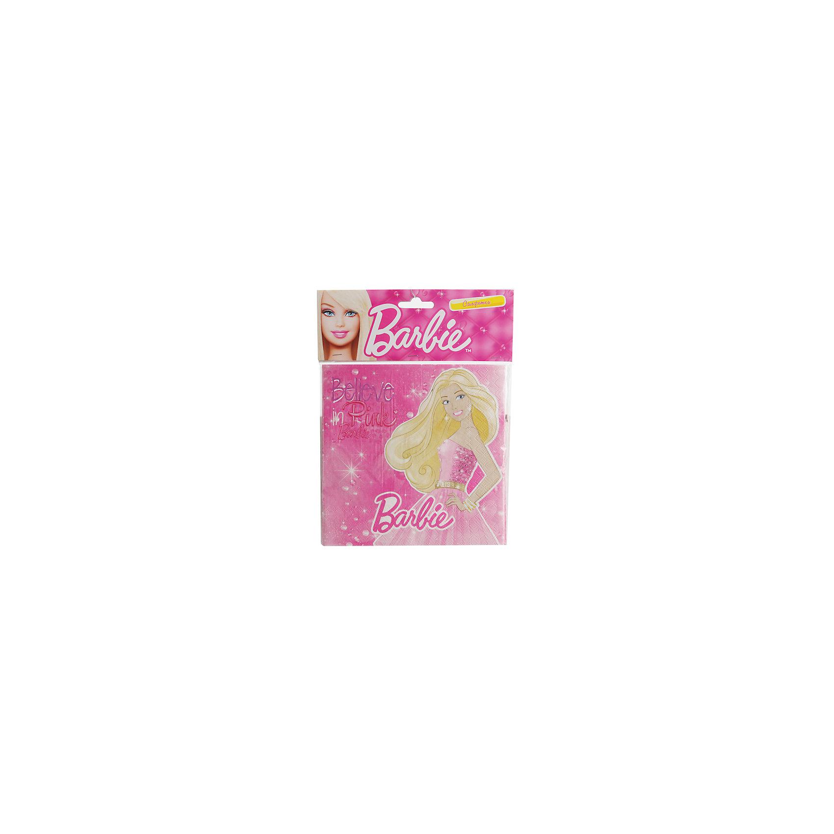 Набор из 12-и салфеток, Barbie