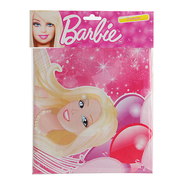 Скатерть, BarbieСалфетки и скатерти<br>Скатерть Barbie украсит девичий праздник, будь то день рождения с любимыми подружками или тематическая детская вечеринка! Одна из популярнейших кукол многих поколений, изображена на ярко-розовой скатерти в окружении ярких воздушных шаров. <br><br>Дополнительная информация:<br><br>- Материал: полиэтилен.<br>- Размер скатерти: 180х140 см.<br>- Размер упаковки: 22х28х1 см.<br>- Вес в упаковке: 90 г.<br><br>Купить скатерть, Barbie, можно в нашем магазине.<br><br>Ширина мм: 22<br>Глубина мм: 28<br>Высота мм: 1<br>Вес г: 90<br>Возраст от месяцев: 12<br>Возраст до месяцев: 2147483647<br>Пол: Женский<br>Возраст: Детский<br>SKU: 4797428