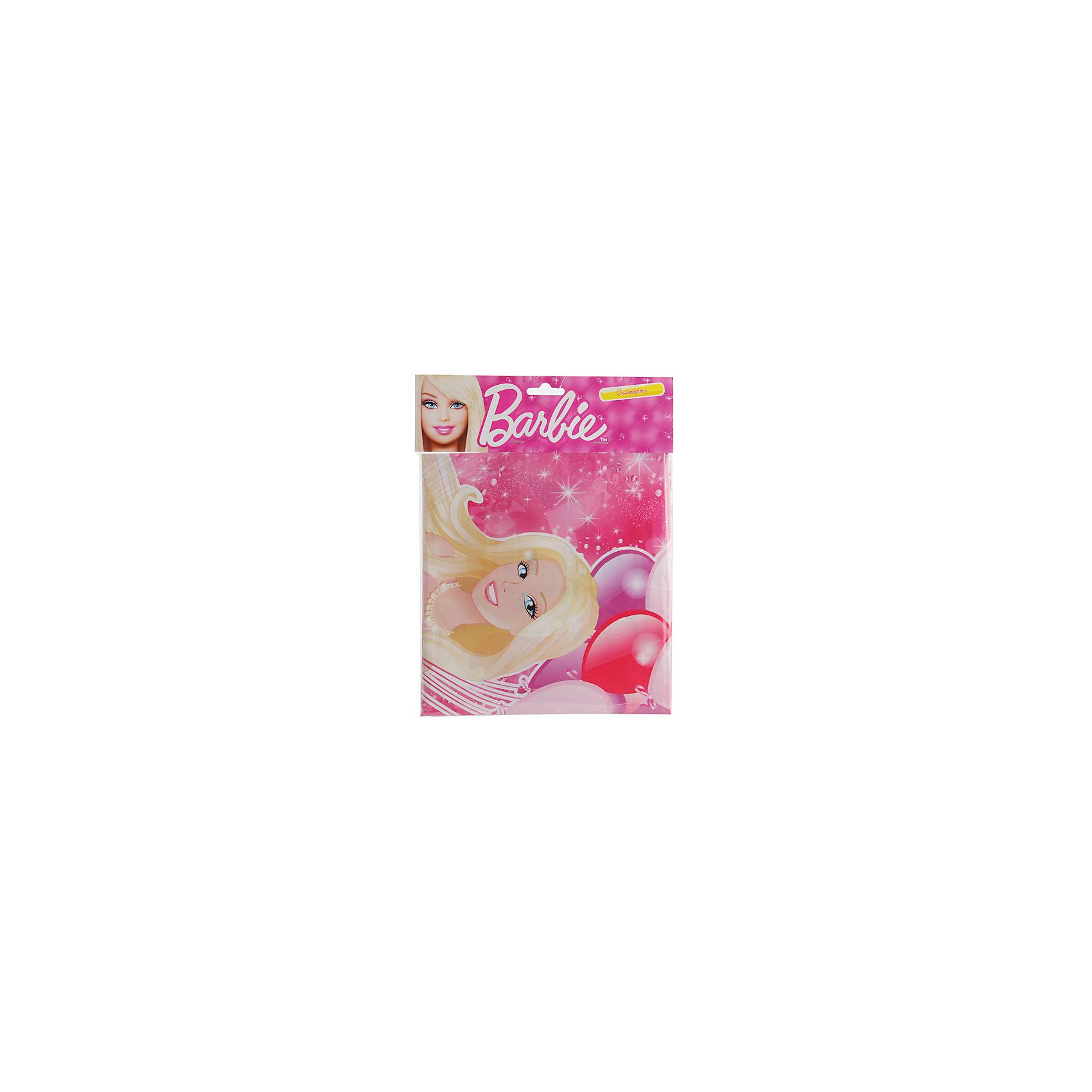 Скатерть, BarbieСкатерть Barbie украсит девичий праздник, будь то день рождения с любимыми подружками или тематическая детская вечеринка! Одна из популярнейших кукол многих поколений, изображена на ярко-розовой скатерти в окружении ярких воздушных шаров. <br><br>Дополнительная информация:<br><br>- Материал: полиэтилен.<br>- Размер скатерти: 180х140 см.<br>- Размер упаковки: 22х28х1 см.<br>- Вес в упаковке: 90 г.<br><br>Купить скатерть, Barbie, можно в нашем магазине.<br><br>Ширина мм: 22<br>Глубина мм: 28<br>Высота мм: 1<br>Вес г: 90<br>Возраст от месяцев: 12<br>Возраст до месяцев: 2147483647<br>Пол: Женский<br>Возраст: Детский<br>SKU: 4797428