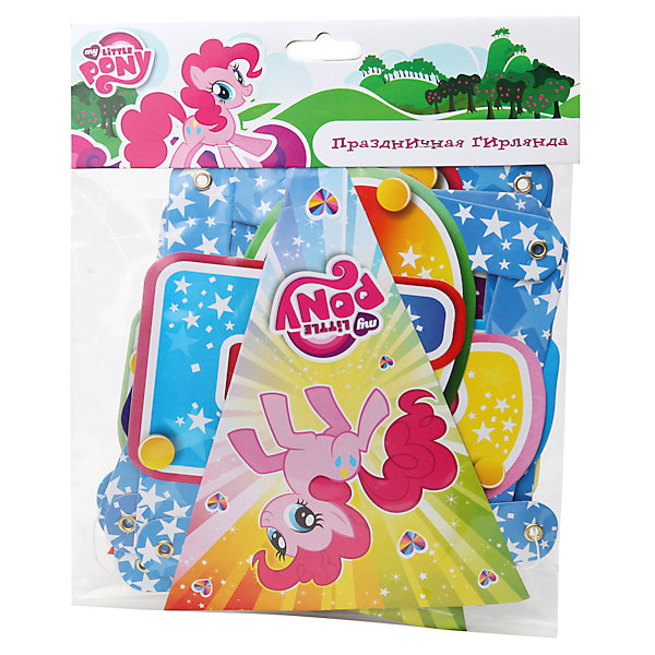 Гирлянда-буквы, My Little PonyMy little Pony<br>Гирлянда My Little Pony создаст праздничное настроение на любом торжестве!<br><br>Дополнительная информация:<br><br>- Материал: плотная бумага, картон.<br>- Размер гирлянды: 190 см.<br>- Размер упаковки: 28х21х1 см.<br>- Вес в упаковке: 70 г.<br><br>Купить гирлянду-буквы My Little Pony  можно в нашем магазине.<br><br>Ширина мм: 28<br>Глубина мм: 21<br>Высота мм: 1<br>Вес г: 70<br>Возраст от месяцев: 12<br>Возраст до месяцев: 2147483647<br>Пол: Женский<br>Возраст: Детский<br>SKU: 4797436