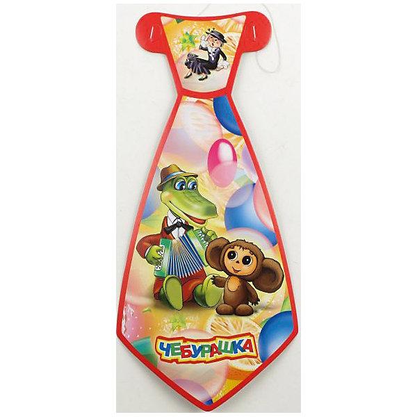 Набор из 6-и галстуков ЧебурашкаАксессуары для детского праздника<br>Детям нравятся забавные яркие вещи! Эти галстуки придутся кстати и создадут у детей некоторое чувство солидарности. Аксессуар сделан из картона, поэтому его не придется стирать, и при желании можно сделать копию. Эта простая вещь с изображением крокодила Гены и Чебурашки создана, чтобы порадовать ребенка в его праздник!<br><br>Дополнительная информация:<br><br>- Возраст: от 3 лет.<br>- Комплект: 6 галстуков.<br>- Материал: картон.<br>- Размер галстука: 14х30 см.<br>- Размер упаковки: 38х15х1 см.<br>- Вес в упаковке: 60 г.<br><br>Купить набор из 6-и галстуков Чебурашка  можно в нашем магазине.<br>Ширина мм: 38; Глубина мм: 15; Высота мм: 1; Вес г: 60; Возраст от месяцев: 12; Возраст до месяцев: 2147483647; Пол: Унисекс; Возраст: Детский; SKU: 4797446;