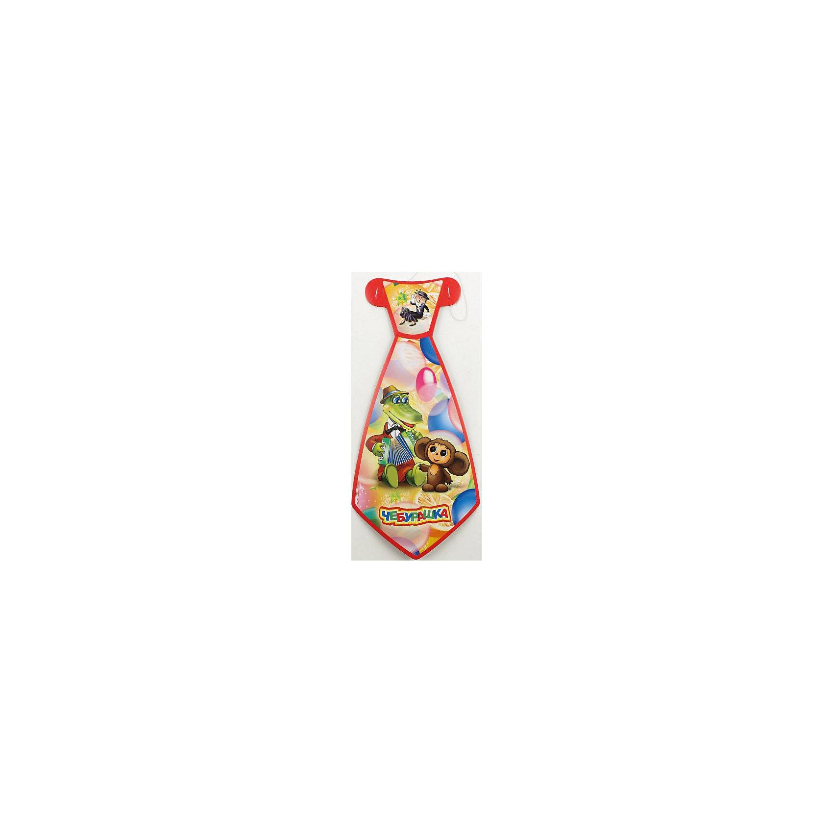 Набор из 6-и галстуков ЧебурашкаДетям нравятся забавные яркие вещи! Эти галстуки придутся кстати и создадут у детей некоторое чувство солидарности. Аксессуар сделан из картона, поэтому его не придется стирать, и при желании можно сделать копию. Эта простая вещь с изображением крокодила Гены и Чебурашки создана, чтобы порадовать ребенка в его праздник!<br><br>Дополнительная информация:<br><br>- Возраст: от 3 лет.<br>- Комплект: 6 галстуков.<br>- Материал: картон.<br>- Размер галстука: 14х30 см.<br>- Размер упаковки: 38х15х1 см.<br>- Вес в упаковке: 60 г.<br><br>Купить набор из 6-и галстуков Чебурашка  можно в нашем магазине.<br><br>Ширина мм: 38<br>Глубина мм: 15<br>Высота мм: 1<br>Вес г: 60<br>Возраст от месяцев: 12<br>Возраст до месяцев: 2147483647<br>Пол: Унисекс<br>Возраст: Детский<br>SKU: 4797446
