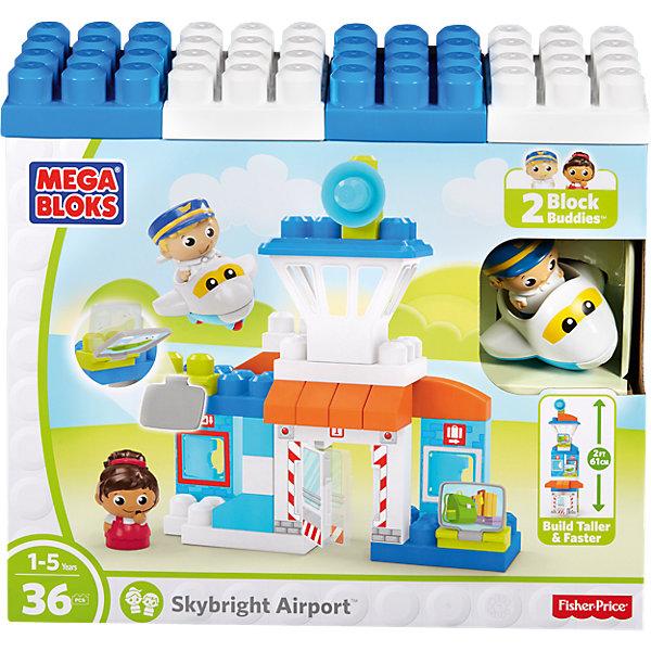 Конструктор Аэропорт, MEGA BLOKSПластмассовые конструкторы<br>Характеристики:<br><br>• тип игрушки: конструктор;<br>• возраст: от 5 лет;<br>• количество деталей: 36 шт;<br>• размер: 15х10х1,5 см;<br>• бренд: Mega Bloks;<br>• материал: пластик;<br>• страна бренда: Канада.<br><br>Конструктор «Аэропорт», MEGA BLOKS обязательно понравится любому ребенку!<br>С таким набором ребенок сможет своими руками собрать аэропорт с самолетом и разыграть интересные истории или повторить увиденные сюжеты.<br><br>Скрепляя элементы набора, малыш тренирует пальчики рук, развивает мелкую моторику, фантазию и воображение, совершенствует навыки конструирования. Все элементы набора изготовлены из пластика высокого качества, который безопасен для здоровья ребенка.<br>Количество деталей: 36.<br><br>Конструктор «Аэропорт», MEGA BLOKS  можно купить в нашем интернет-магазине.<br>Ширина мм: 379; Глубина мм: 337; Высота мм: 134; Вес г: 1161; Возраст от месяцев: 12; Возраст до месяцев: 48; Пол: Мужской; Возраст: Детский; SKU: 4797465;