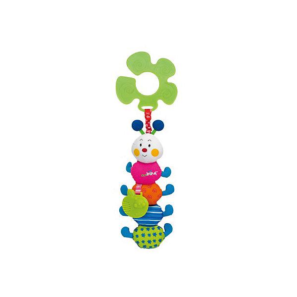 Гусеничка подвеска, Ks KidsИгрушки для новорожденных<br>Гусеничка подвеска, Ks Kids (Кс Кидс) ? развивающая игрушка-подвеска, предназначенная для детей с самого рождения. Подвеска выполнена в форме знаменитого персонажа Кс Кидс ? веселой яркой гусенички. <br>У гусеницы тело, состоящее из головы и 4 разноцветных отделений, каждый из которых имеет свой слуховой эффект: шуршит, бренчит, звенит, пищит. К одному из элементов туловища прикреплен резиновый прорезыватель в форме зеленого яблока.<br>К пластиковому кольцу-держателю гусеничка прикреплена яркой широкой резинкой. Саму игрушку можно подвешивать к абсолютно любому поручню: будь то коляска, кроватка, автокресло или стульчик для кормления. <br>Игрушка изготовлена из высококачественного гипоаллергенного текстильного материала.<br>Все элементы Гусенички подвески, Ks Kids (Кс Кидс) направлены на сенсомоторное развитие вашего малыша. <br><br>Дополнительная информация:<br><br>- Вид игр: развивающие<br>- Предназначение: для дома, для прогулки<br>- Материал: текстиль, пластик<br>- Размер: 9*29*2 см<br>- Вес: 134 г<br>- Особенности ухода: можно стирать в щадящем режиме<br><br>Подробнее:<br><br>• Для детей в возрасте: от 0 месяцев до 1 года<br>• Страна производитель: Китай<br>• Торговый бренд: Ks Kids (Кс Кидс)<br><br>Гусеничку подвеску, Ks Kids (Кс Кидс) можно купить в нашем интернет-магазине.<br><br>Ширина мм: 90<br>Глубина мм: 290<br>Высота мм: 20<br>Вес г: 134<br>Возраст от месяцев: 0<br>Возраст до месяцев: 12<br>Пол: Унисекс<br>Возраст: Детский<br>SKU: 4799440