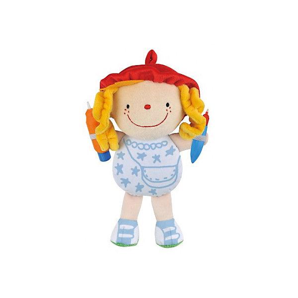 Джулия Что носить, Ks KidsКуклы<br>Джулия Что носить, Ks Kids (Кс Кидс) ? уникальная кукла от всемирно известного производителя детских игрушек. Ждулия ? это мягкая текстильная кукла в образе забавной девочки, которую нужно одеть. Но одежда у нее совершенно особенная ? ее нужно нарисовать.<br>Туловище и ботиночки куклы выполнены из специального материала, на котором можно рисовать водными фломастерами, которые идут в комплекте. Для начала рисования, фломастеры необходимо наполнить водой. После этого можно приступать к творческому процессу. После высыхания рисунок исчезает и творческий процесс можно начинать заново.<br>Джулия Что носить, Ks Kids (Кс Кидс) ? это игра, в которой любой ребенок может почувствовать себя в роли дизайнера одежды.<br>Игра Джулия Что носить, Ks Kids будет способствовать развитию художественных способностей, воображения, а также научит усидчивости и терпению.<br><br>Дополнительная информация:<br><br>- Вид игр: сюжетно-ролевые, творческие<br>- Предназначение: для дома<br>- Комплектация: кукла и 2 фломастера<br>- Материал: текстиль, пластик<br>- Размер: 20*26*7 см<br>- Вес: 283 г<br>- Особенности ухода: разрешается стирать в щадящем режиме<br><br>Подробнее:<br><br>• Для детей в возрасте: от 3 лет до 7 лет<br>• Страна производитель: Китай<br>• Торговый бренд: Ks Kids (Кс Кидс)<br><br>Джулию Что носить, Ks Kids (Кс Кидс) можно купить в нашем интернет-магазине.<br>Ширина мм: 200; Глубина мм: 260; Высота мм: 70; Вес г: 283; Возраст от месяцев: 36; Возраст до месяцев: 84; Пол: Унисекс; Возраст: Детский; SKU: 4799452;