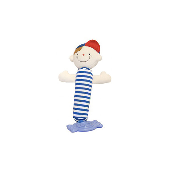 Погремушка-пищалка с прорезывателем Вэйн, Ks KidsИгрушки для новорожденных<br>Игрушка-пищалка Вэйн, Ks Kids (Кс Кидс) ? забавная погремушка от Ks Kids для самых маленьких малышей. <br>Погремушка-пищалка выполнена в форме мальчика, у него круглое улыбающееся личико, две ручки и длинное мягкое туловище в яркую полоску. На голове у Вэйна озорная кепка. Конструкция, ширина и длина игрушки продуманы очень тщательно, с учетом того, чтобы ее удобно было держать в маленькой ладошке. Вэйн выполнен из гипоаллергенного текстиля высокого качества. К нижнему концу игрушки надежно прикреплен резиновый прорезыватель с выпуклыми элементами.<br>Игрушка-пищалка Вэйн, Ks Kids (Кс Кидс) будет способствовать развитию мелкой моторики, зрительному восприятию, развитию слуха и эмоциональности.<br><br>Дополнительная информация:<br><br>- Вид игр: развивающие<br>- Предназначение: для дома<br>- Материал: текстиль, резина<br>- Размер: 12*18*6 см<br>- Вес: 92 г<br>- Особенности ухода: разрешается мыть в теплой мыльной воде<br><br>Подробнее:<br><br>• Для детей в возрасте: от 0 месяцев до 1 года<br>• Страна производитель: Китай<br>• Торговый бренд: Ks Kids (Кс Кидс)<br><br>Игрушку-пищалку Вэйна, Ks Kids (Кс Кидс) можно купить в нашем интернет-магазине.<br><br>Ширина мм: 120<br>Глубина мм: 180<br>Высота мм: 60<br>Вес г: 92<br>Возраст от месяцев: 0<br>Возраст до месяцев: 12<br>Пол: Унисекс<br>Возраст: Детский<br>SKU: 4799454