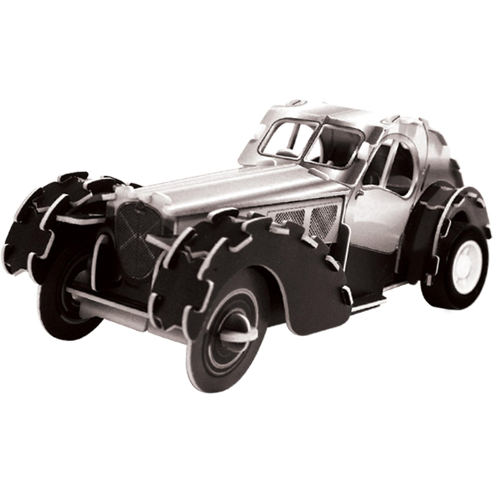 3D Пазл Ретро автомобиль 57SC Coupe инерционный, 67 деталей<br><br>Ширина мм: 160<br>Глубина мм: 35<br>Высота мм: 110<br>Вес г: 110<br>Возраст от месяцев: 60<br>Возраст до месяцев: 120<br>Пол: Унисекс<br>Возраст: Детский<br>SKU: 4800760