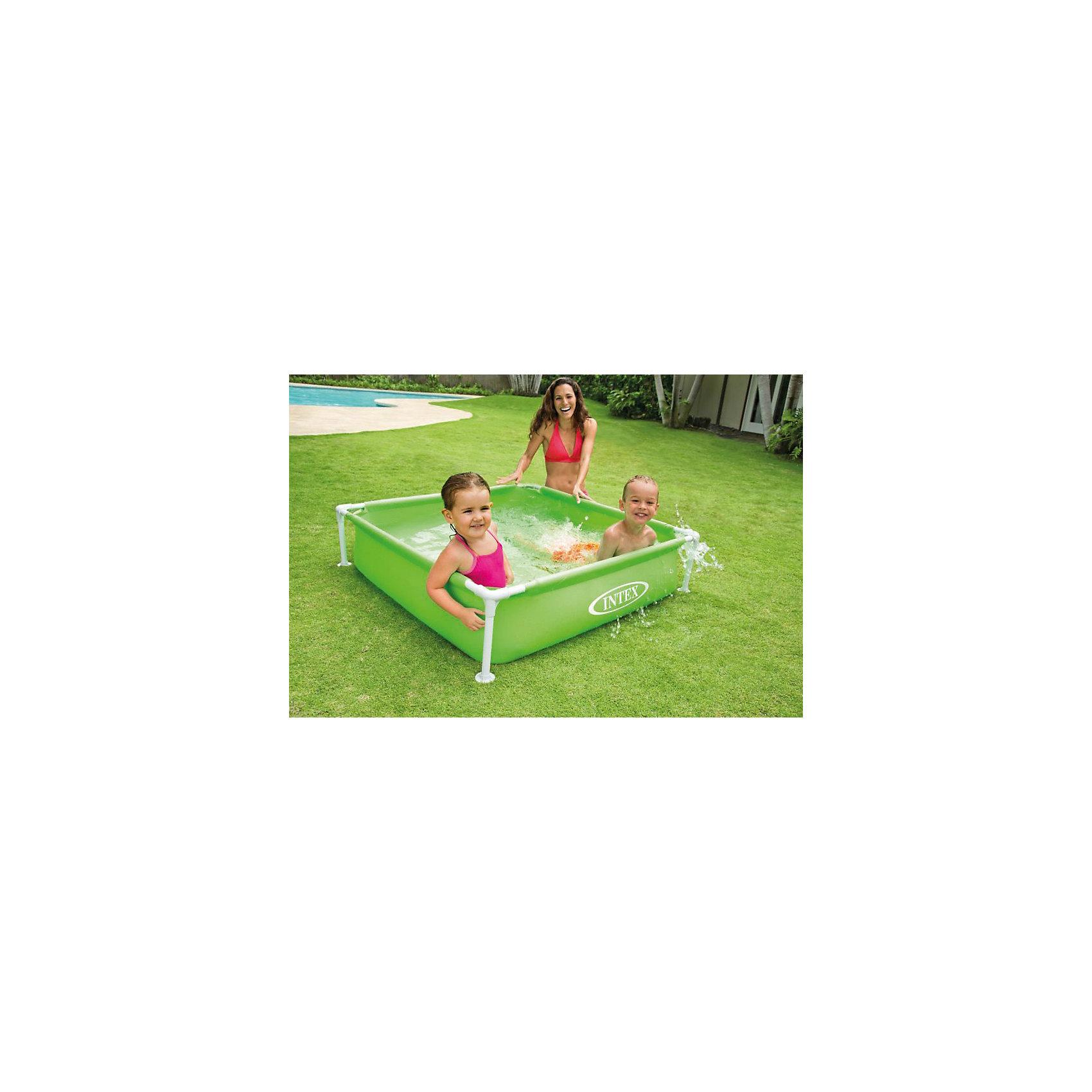 где купить  Intex Каркасный детский бассейн , Intex, зеленый  по лучшей цене