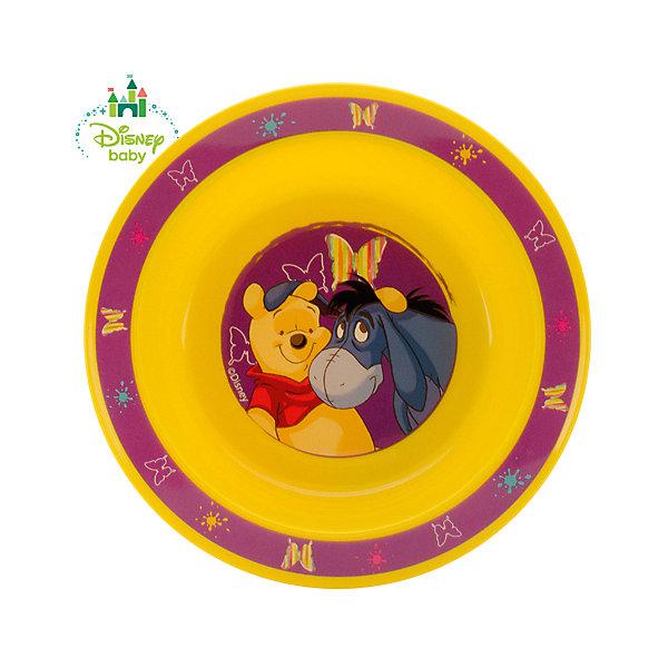 Тарелка Медвежонок Винни DISNEY от 6 мес., LUBBY, жёлтыйДетская посуда<br>Когда Ваш малыш учится есть самостоятельно, то  Тарелка Медвежонок Винни просто незаменима. Яркий  рисунок с любимым героем на дне побуждает малыша доесть всю пищу  до конца и превращает этот процесс в игру.<br><br>Дополнительная информация: <br><br>- состав: полипропилен (рр)<br>- срок службы: 1 год<br>- размер: 17,5*3 см.<br>- размер единичной упаковки (дхшхв) : 45 * 210 * 177<br><br>Тарелку Медвежонок Винни можно купить в нашем интернет-магазине.<br><br>Ширина мм: 45<br>Глубина мм: 210<br>Высота мм: 177<br>Вес г: 350<br>Возраст от месяцев: 6<br>Возраст до месяцев: 36<br>Пол: Унисекс<br>Возраст: Детский<br>SKU: 4801548