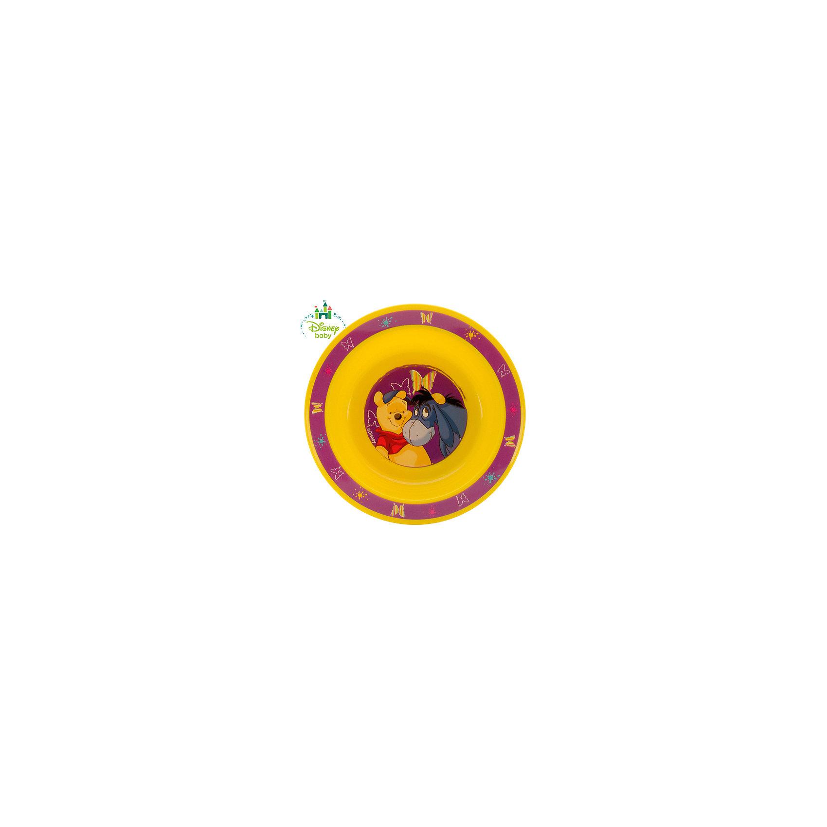 Тарелка Медвежонок Винни DISNEY от 6 мес., LUBBY, жёлтыйПосуда для малышей<br>Когда Ваш малыш учится есть самостоятельно, то  Тарелка Медвежонок Винни просто незаменима. Яркий  рисунок с любимым героем на дне побуждает малыша доесть всю пищу  до конца и превращает этот процесс в игру.<br><br>Дополнительная информация: <br><br>- состав: полипропилен (рр)<br>- срок службы: 1 год<br>- размер: 17,5*3 см.<br>- размер единичной упаковки (дхшхв) : 45 * 210 * 177<br><br>Тарелку Медвежонок Винни можно купить в нашем интернет-магазине.<br><br>Ширина мм: 45<br>Глубина мм: 210<br>Высота мм: 177<br>Вес г: 350<br>Возраст от месяцев: 6<br>Возраст до месяцев: 36<br>Пол: Унисекс<br>Возраст: Детский<br>SKU: 4801548