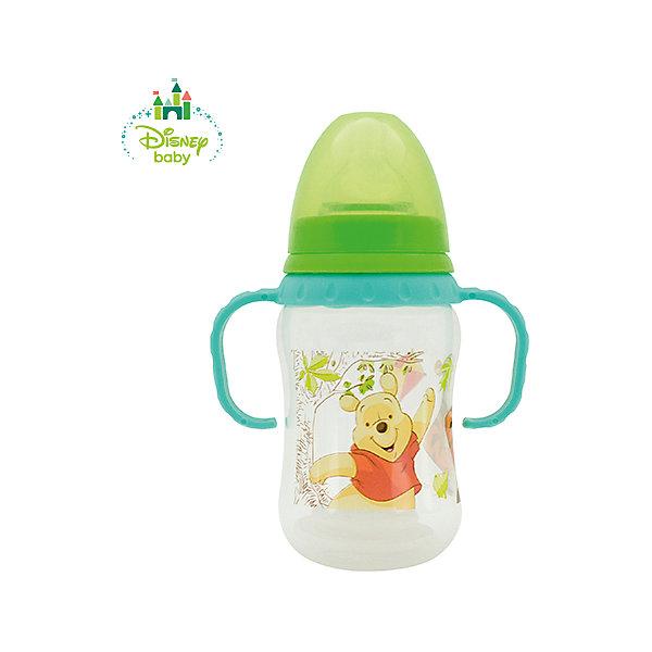 Бутылочка Медвежонок Винни DISNEY от 6 мес., 250 мл., LUBBY, зеленый/бирюзовыйБутылочки и аксессуары<br>Бутылочка Медвежонок Винни с молочной силиконовой соской (размер М, средний поток) поможет   накормить Вашего малыша. С учетом возраста ребенка и для разного типа жидкостей используйте соски LUBBY различного потока (S, M, L, Х - для густой пищи). В комплекте к бутылочке Медвежонок Винни прилагается дополнительный мягкий наконечник, превращая бутылочку в поильник. А ручки и точная нестираемая шкала делают его незаменим, как для малышей, так и для мамочек.<br><br>Дополнительная информация: <br><br>- состав: полипропилен (pp), силикон<br>- срок службы: бутылочки - 1 год, соски - 45 дней<br>- размер единичной упаковки (дхшхв) : 73 * 165 * 100<br>- объем: 250 мл.<br><br>Бутылочка Медвежонок Винни с соской, носиком и ручками можно купить в нашем интернет-магазине.<br><br>Ширина мм: 350<br>Глубина мм: 200<br>Высота мм: 150<br>Вес г: 350<br>Возраст от месяцев: 6<br>Возраст до месяцев: 36<br>Пол: Унисекс<br>Возраст: Детский<br>SKU: 4801551