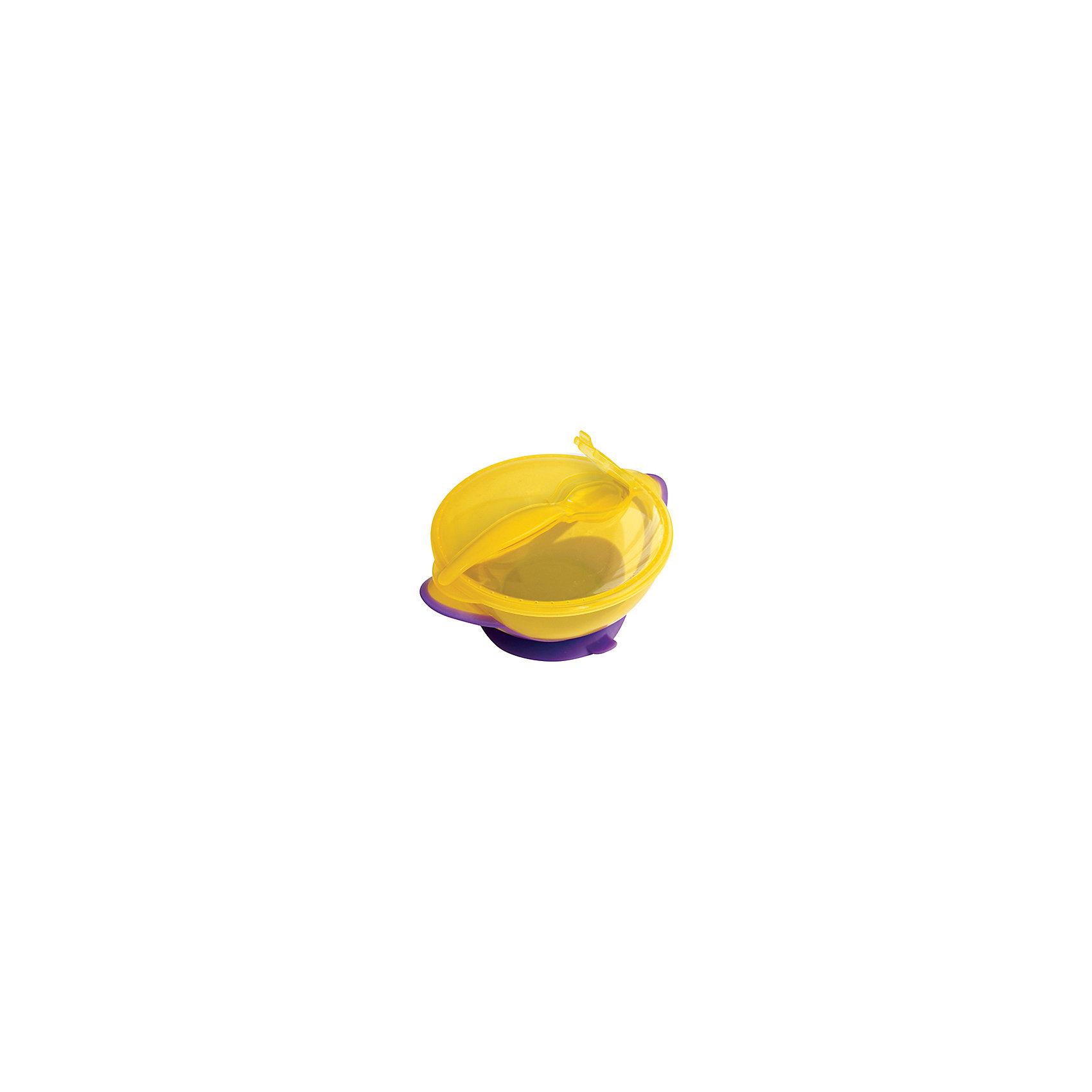 Тарелка Классика от 6 мес. с ложкой и присоской, LUBBY, желтыйПосуда для малышей<br>Тарелка Классика с крышкой и ложкой для кормления  поможет малышу научиться есть самому. Тарелка Классика имеет специальную крышку, сохраняя чистоту и гигиеничность прибора, что  незаменимо во время путешествий. Присоска препятствует свободному перемещению тарелки по столу. <br><br>Дополнительная информация: <br><br>- состав: полипропилен<br>- срок службы: 1 год<br>- размер единичной упаковки (дхшхв) : 14*7*17<br>- объем: 400 мл.<br><br>Тарелку  Классика  можно купить в нашем интернет-магазине.<br><br>Ширина мм: 140<br>Глубина мм: 70<br>Высота мм: 190<br>Вес г: 350<br>Возраст от месяцев: 6<br>Возраст до месяцев: 36<br>Пол: Унисекс<br>Возраст: Детский<br>SKU: 4801561