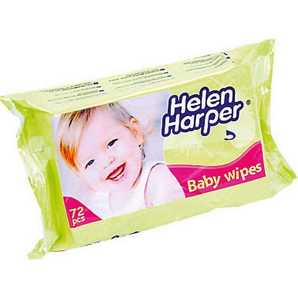 Детские влажные салфетки 72 шт., Helen HarperВлажные салфетки<br>Влажные детские салфетки торговой марки Helen Harper были специально разработаны для нежной детской кожи. Салфетки содержат специальный очищающий состав, который обеззараживает кожу от вредных микроорганизмов, очищает поры, а также обладает прекрасным увлажняющим и смягчающим эффектом.<br> Незаменимы при уходе за новорожденными, с их помощью возможно избежать пелёночный дерматит и опрелости. <br><br> Дополнительная информация: <br><br>- торговая марка:  Helen Harper<br>- возраст малыша: от рождения <br>- тип кожи: для всех типов <br>- по типу салфетки: влажные, гигиенические<br>- гипоаллергенный: да<br>- материал: целлюлоза <br>- количество в упаковке: (шт.) 72<br><br>Влажные детские салфетки торговой марки  Helen Harper можно купить в нашем интернет-магазине.<br>Ширина мм: 220; Глубина мм: 550; Высота мм: 100; Вес г: 400; Возраст от месяцев: -2147483648; Возраст до месяцев: 2147483647; Пол: Унисекс; Возраст: Детский; SKU: 4801645;