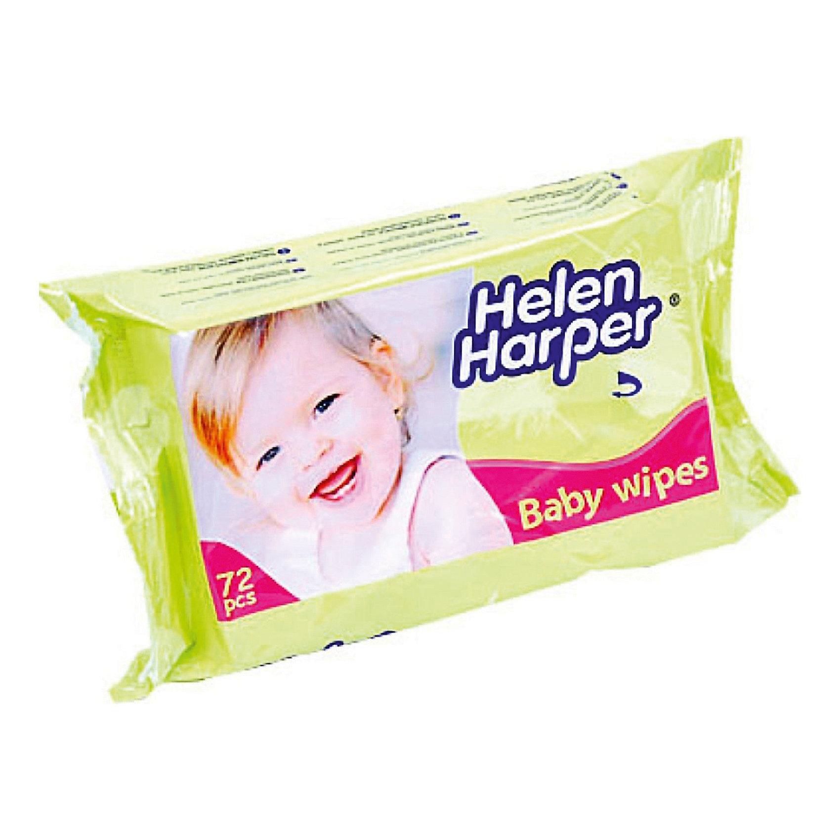 Детские влажные салфетки 72 шт., Helen HarperВлажные детские салфетки торговой марки Helen Harper были специально разработаны для нежной детской кожи. Салфетки содержат специальный очищающий состав, который обеззараживает кожу от вредных микроорганизмов, очищает поры, а также обладает прекрасным увлажняющим и смягчающим эффектом.<br> Незаменимы при уходе за новорожденными, с их помощью возможно избежать пелёночный дерматит и опрелости. <br><br> Дополнительная информация: <br><br>- торговая марка:  Helen Harper<br>- возраст малыша: от рождения <br>- тип кожи: для всех типов <br>- по типу салфетки: влажные, гигиенические<br>- гипоаллергенный: да<br>- материал: целлюлоза <br>- количество в упаковке: (шт.) 72<br><br>Влажные детские салфетки торговой марки  Helen Harper можно купить в нашем интернет-магазине.<br><br>Ширина мм: 220<br>Глубина мм: 550<br>Высота мм: 100<br>Вес г: 400<br>Возраст от месяцев: -2147483648<br>Возраст до месяцев: 2147483647<br>Пол: Унисекс<br>Возраст: Детский<br>SKU: 4801645