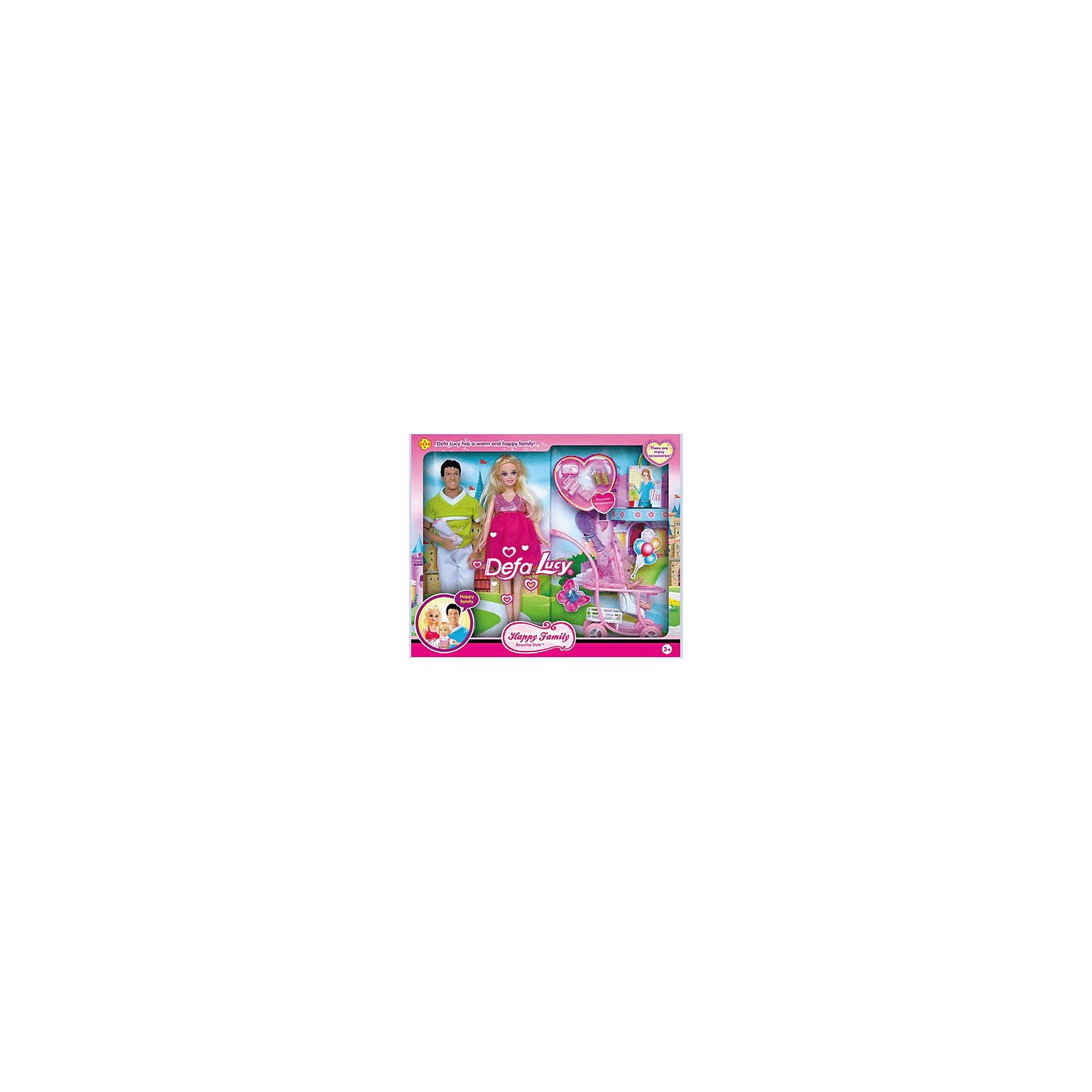 Набор Счастливая семья: куклы с аксессуарами, DefaКукла из серии Defa - отличный подарок вашему ребенку,т.к. эти чудесные девочки не могу оставить равнодушным. Набор из 3-х кукол Счастливая семья: беременная мама (съёмный живот) с аксессуарами.<br><br>Ширина мм: 65<br>Глубина мм: 410<br>Высота мм: 340<br>Вес г: 65<br>Возраст от месяцев: 36<br>Возраст до месяцев: 132<br>Пол: Женский<br>Возраст: Детский<br>SKU: 4801668