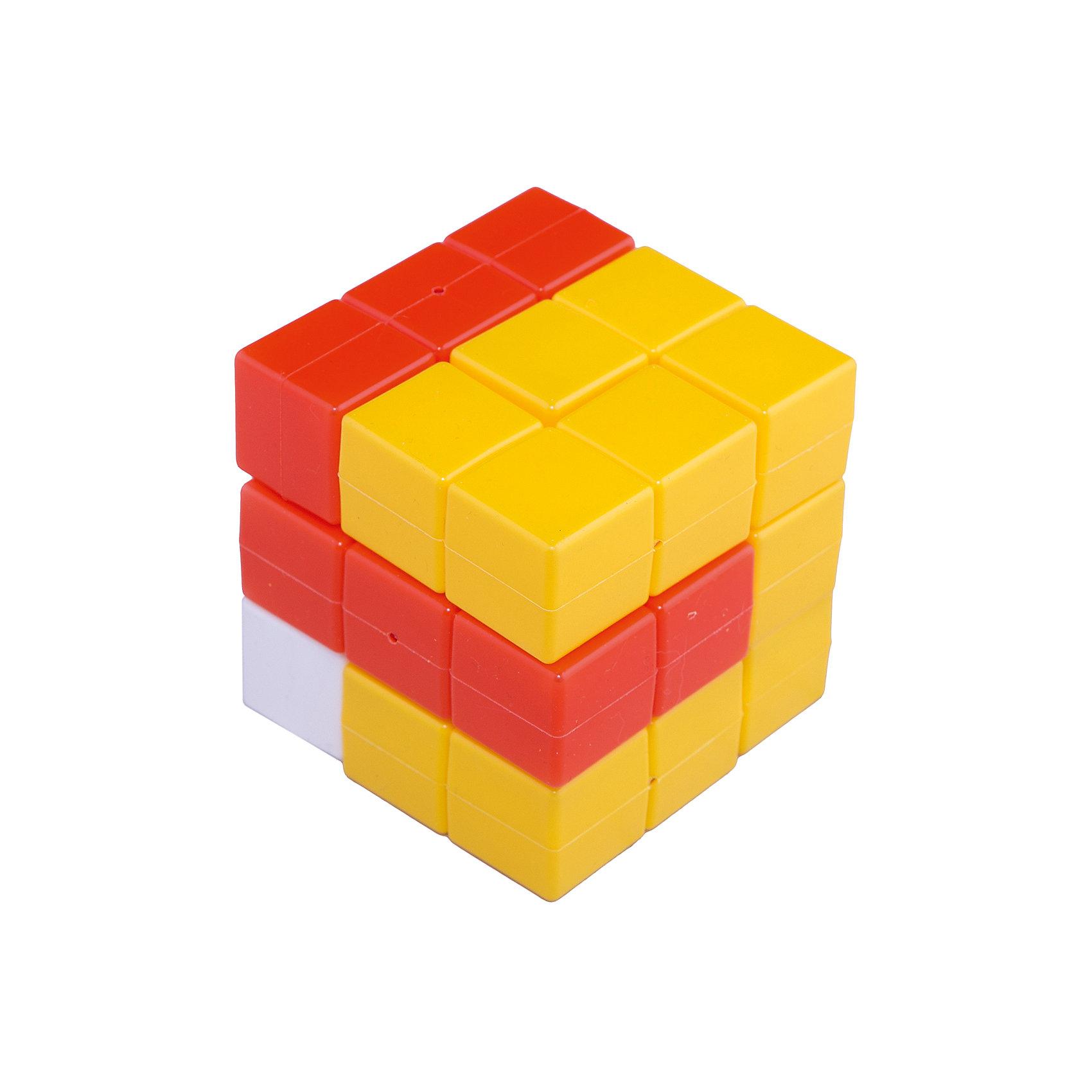 Развивающая игра «Эврика. Кубики для всех»Описание: В состав каждой игры входят 27 отдельных кубиков, соединённых между собой определенным образом, в результате чего получаются фигуры разной конфигурации. Вариант №3 состоит из восьми фигур: пять «уголков», две фигуры похожих на букву «Г» и одна фигура похожая на букву «Т». Из набора фигур можно сложить огромное количество красивых построек, а самая главная задача игры: сложить куб 3х3х3 разными способами. Последовательность предлагаемых задач в инструкции условна. Вариант игры Эврика, как и все логические кубики развивают пространственное мышление, воображение, память (особенно зрительную), творческие способности, смекалку и сообразительность.<br><br>Ширина мм: 9<br>Глубина мм: 9<br>Высота мм: 9<br>Вес г: 150<br>Возраст от месяцев: 36<br>Возраст до месяцев: 2147483647<br>Пол: Унисекс<br>Возраст: Детский<br>SKU: 4803018