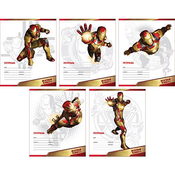 Школьная тетрадь Iron Man, 12 л., 10 шт., в линейкуБумажная продукция<br><br>Ширина мм: 170; Глубина мм: 30; Высота мм: 202; Вес г: 363; Возраст от месяцев: 60; Возраст до месяцев: 2147483647; Пол: Мужской; Возраст: Детский; SKU: 4803071;