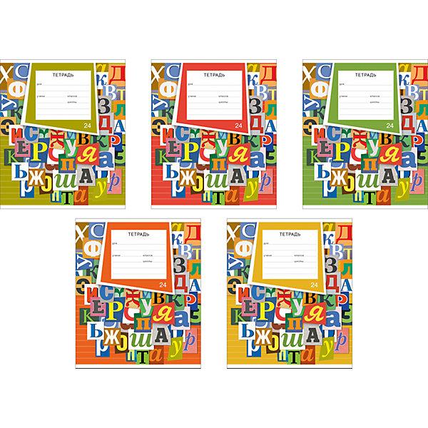 Тетрадь Типографика линейка, 24 л., 10 шт.Бумажная продукция<br><br>Ширина мм: 170; Глубина мм: 50; Высота мм: 202; Вес г: 612; Возраст от месяцев: 60; Возраст до месяцев: 2147483647; Пол: Унисекс; Возраст: Детский; SKU: 4803115;