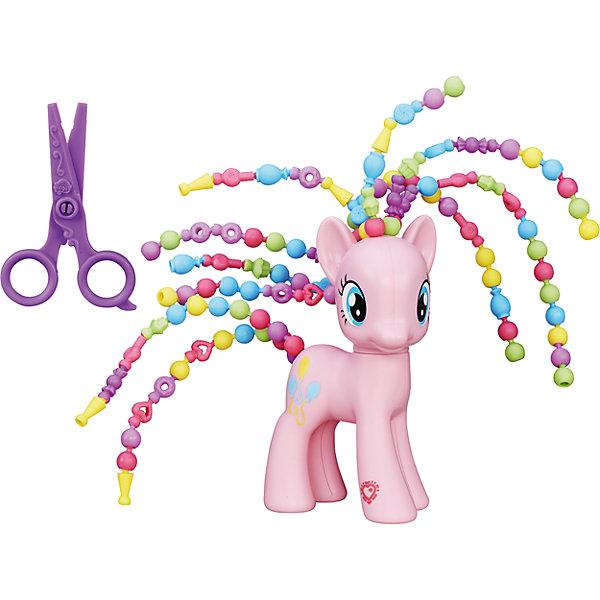 Пони с разными прическами, My little Pony, B3603/B5417Игрушки<br>Пони с разными прическами, My little Pony, порадуют всех юных поклонниц волшебных лошадок из популярного мультсериала Дружба -это чудо( My Little Pony: Friendship Is Magic). В чудесном наборе Вы найдете фигурку красавицы пони и различные аксессуары для создания крутых причесок. У каждой лошадки уникальный тип волос и грив: они состоят из отдельных пластиковых элементов разных форм, которые можно комбинировать и изменять согласно своей фантазии. На ножке фигурки лошадки вы найдете специальный код, который сканируется при помощи мобильного устройства и открывает дополнительные функции в игровом приложении My Little Pony. Наборы представлены в ассортименте: Пинки Пай (розовая пони) или Эплджек (оранжевая пони).  Дополнительная информация:  - В комплекте: пони, аксессуары. - Материал: пластик. - Размер упаковки: 27 х 7,5 х 24 см. - Вес: 0,35 кг.  Пони с разными прическами, My little Pony, в ассортименте, можно купить в нашем интернет-магазине.  ВНИМАНИЕ! Данный артикул имеется в наличии в разных вариантах исполнения. Заранее выбрать определенный вариант нельзя. При заказе нескольких наборов возможно получение одинаковых.<br>Ширина мм: 76; Глубина мм: 267; Высота мм: 241; Вес г: 350; Возраст от месяцев: 36; Возраст до месяцев: 120; Пол: Женский; Возраст: Детский; SKU: 4803329;