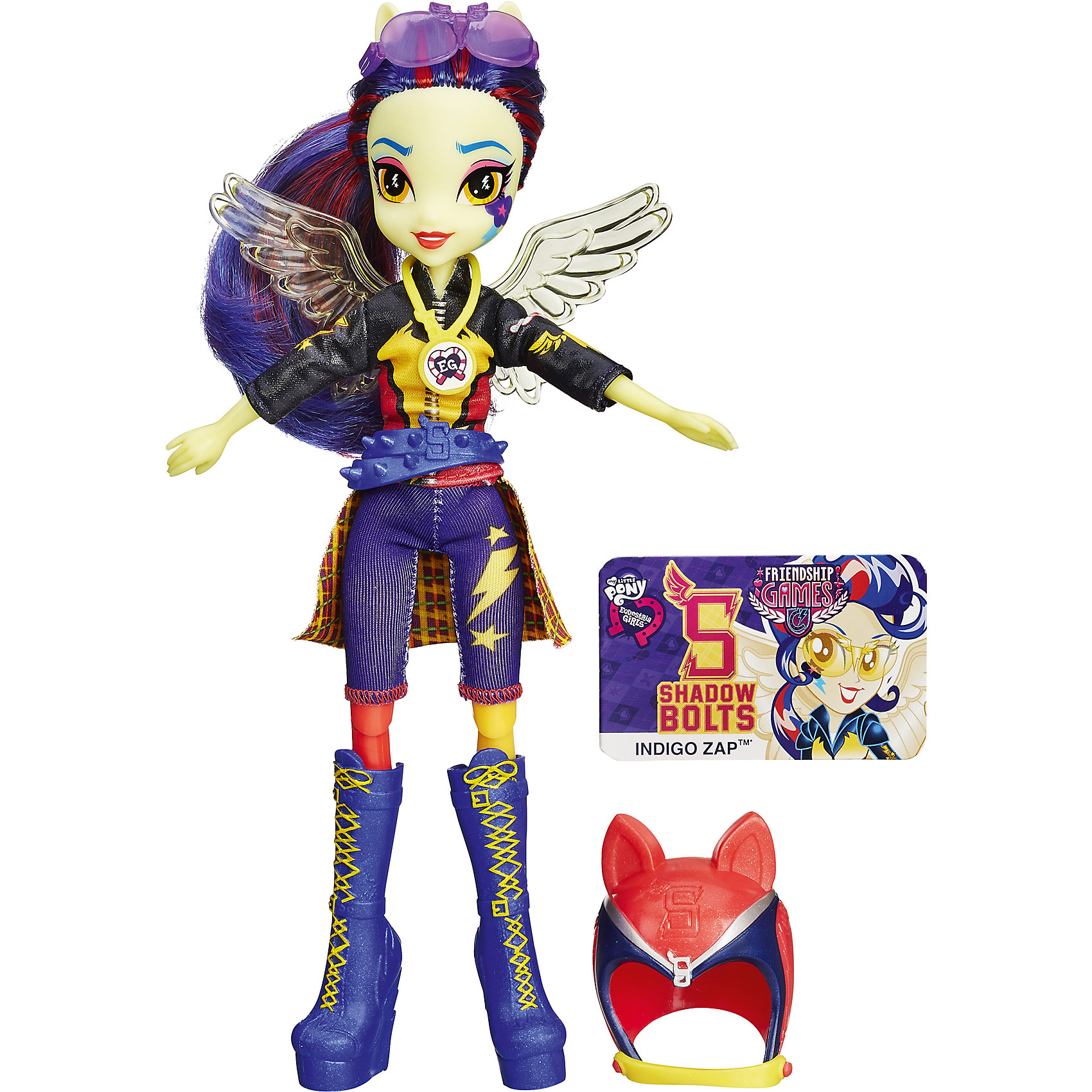 Hasbro Кукла Шедоуболт, с аксессуарами, Эквестрия герлз, B1772/B3779  hasbro мини кукла эквестрия герлз b4903 b7793
